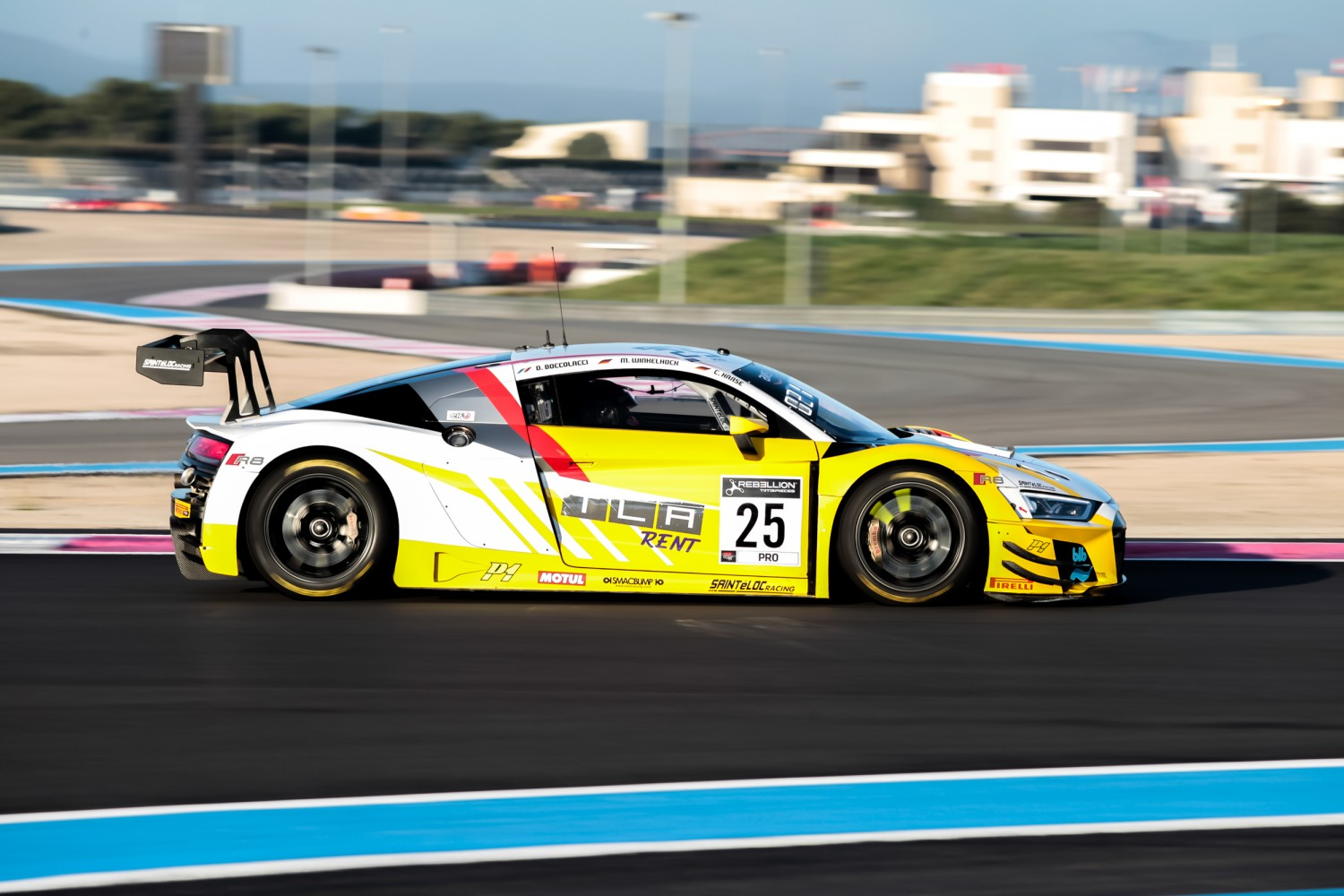 Sainteloc Audi on top again in Circuit Paul Ricard pre-qualifying