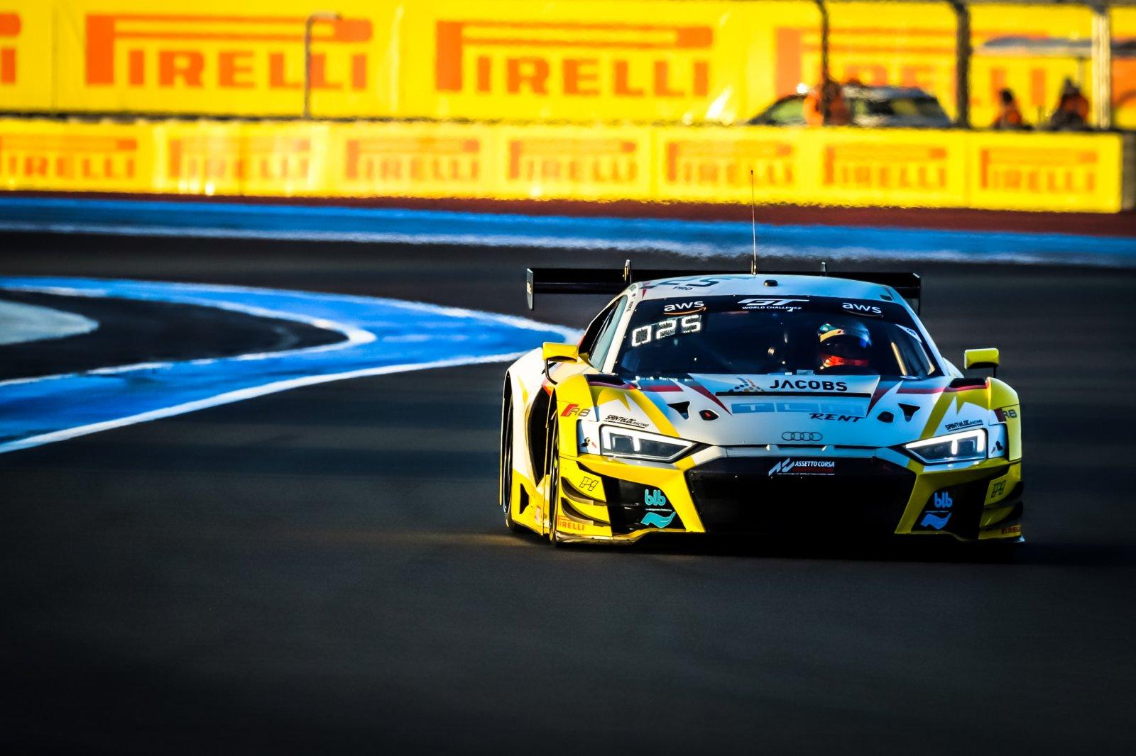 Sainteloc Racing Audi tops opening practice at Paul Ricard as season finale gets underway