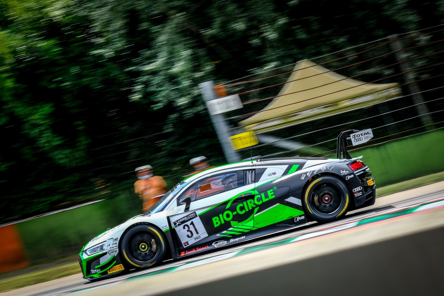 2020 season officially underway as GT World Challenge Europe Powered by AWS hits the track at Imola