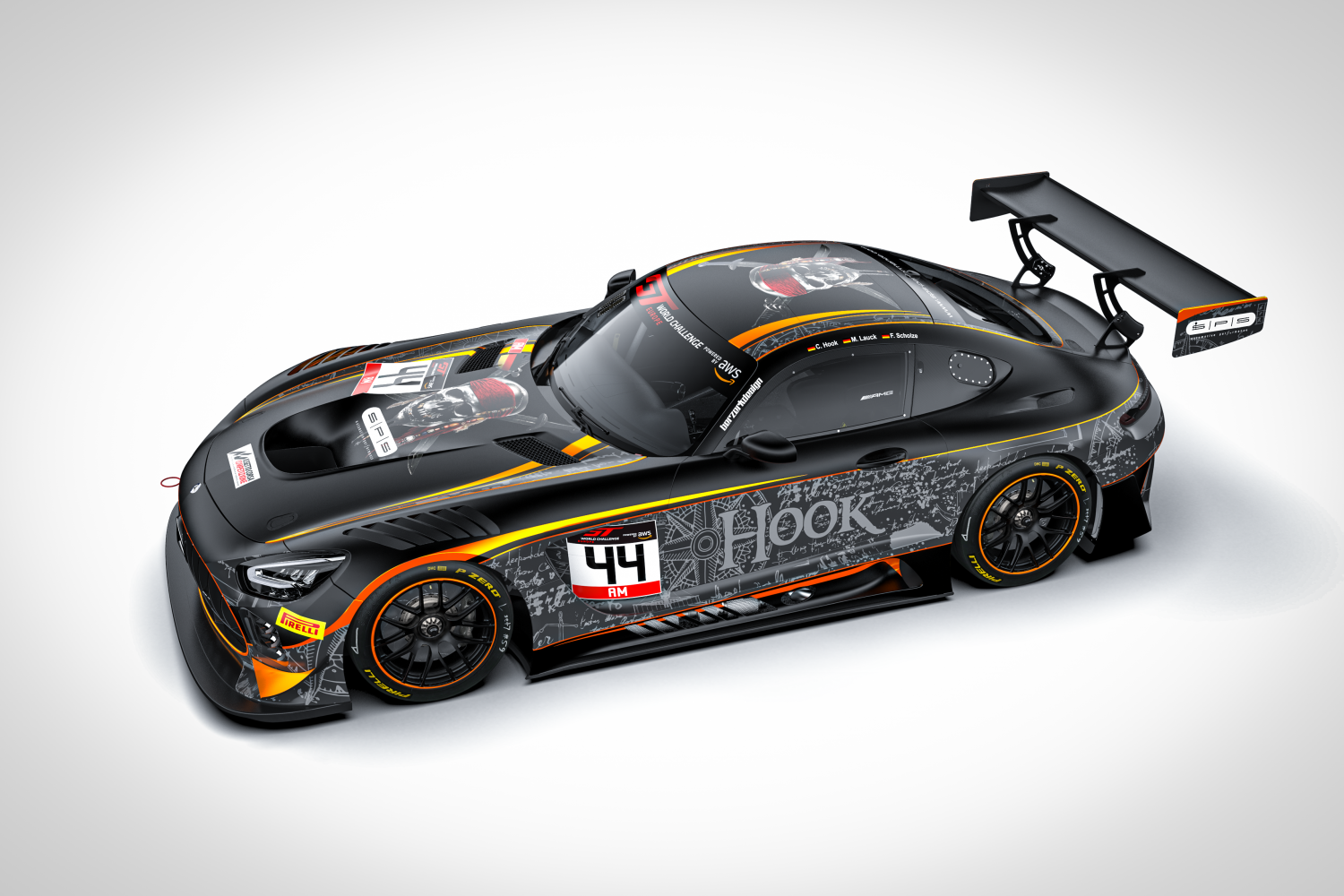 SPS Automotive confirms drivers for Endurance Cup effort with Mercedes-AMG