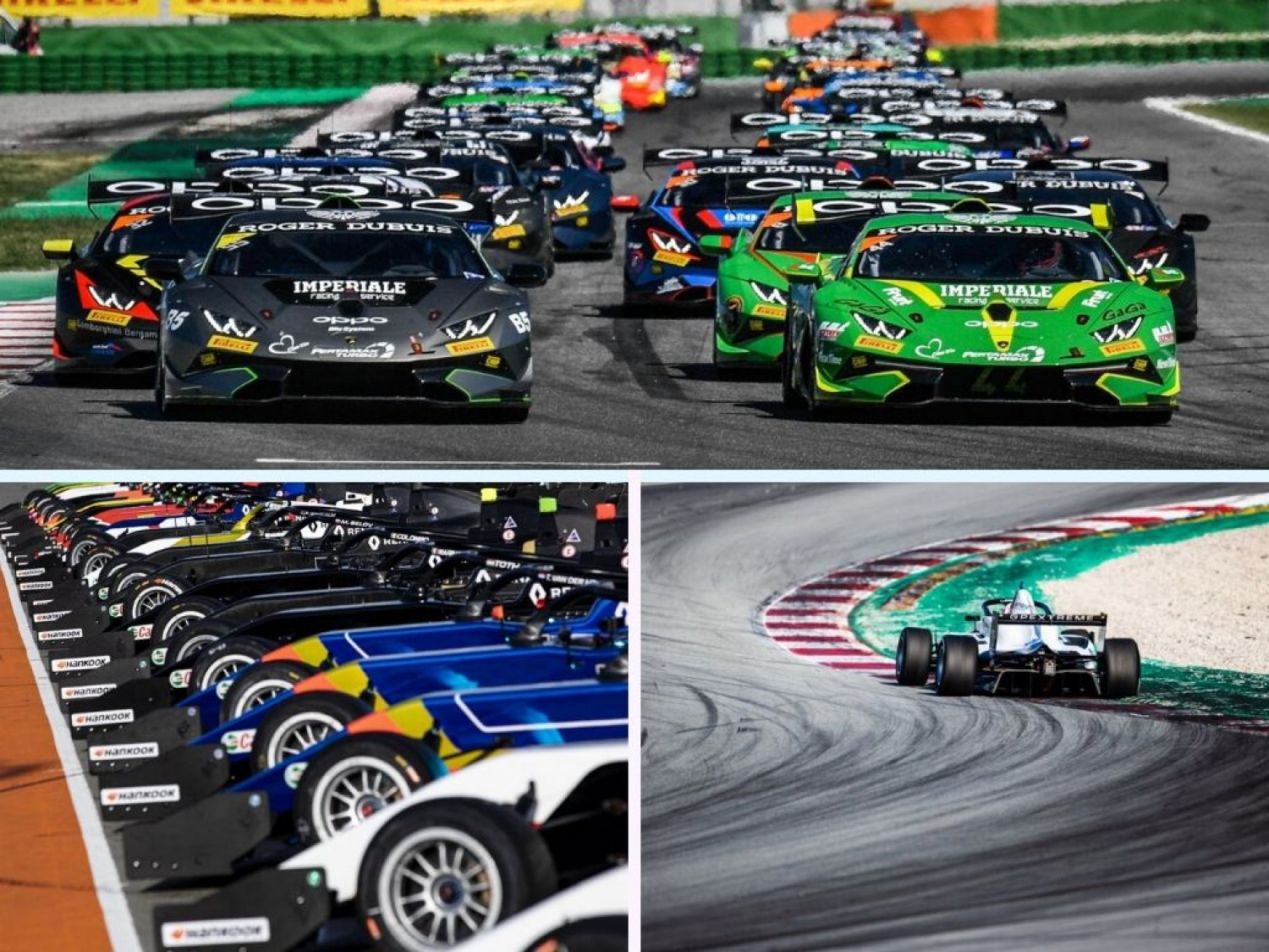 Lamborghini Super Trofeo and Formula Renault Eurocup continue as GT World Challenge Europe Powered by AWS support series