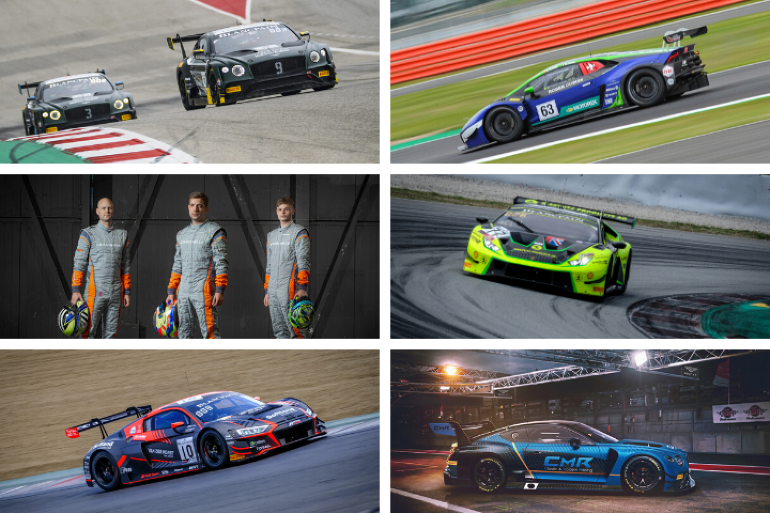 New and returning teams reveal plans for GT World Challenge Europe Powered by AWS