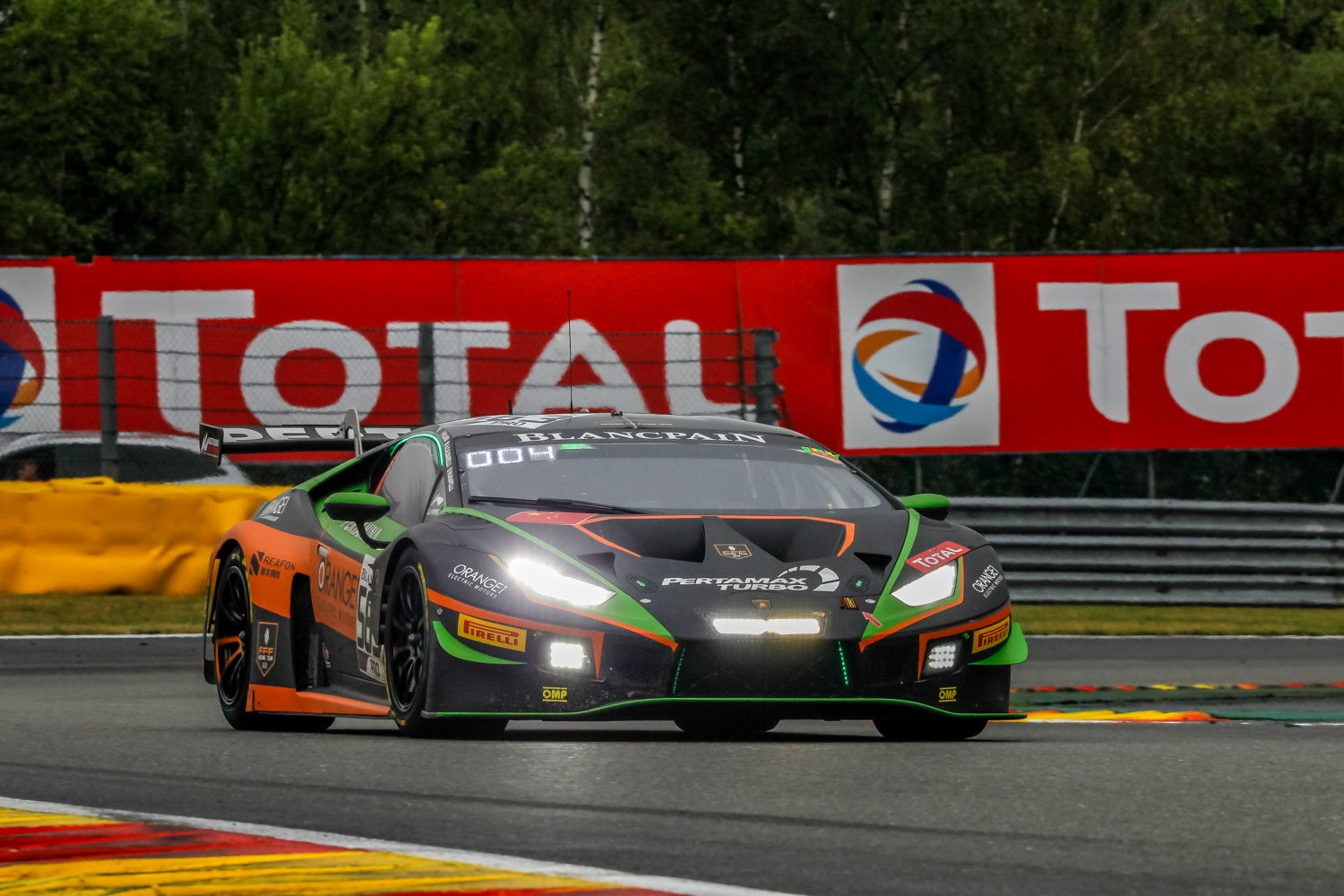 FFF and Lamborghini commit to Total 24 Hours of Spa as part of Intercontinental GT Challenge title bid