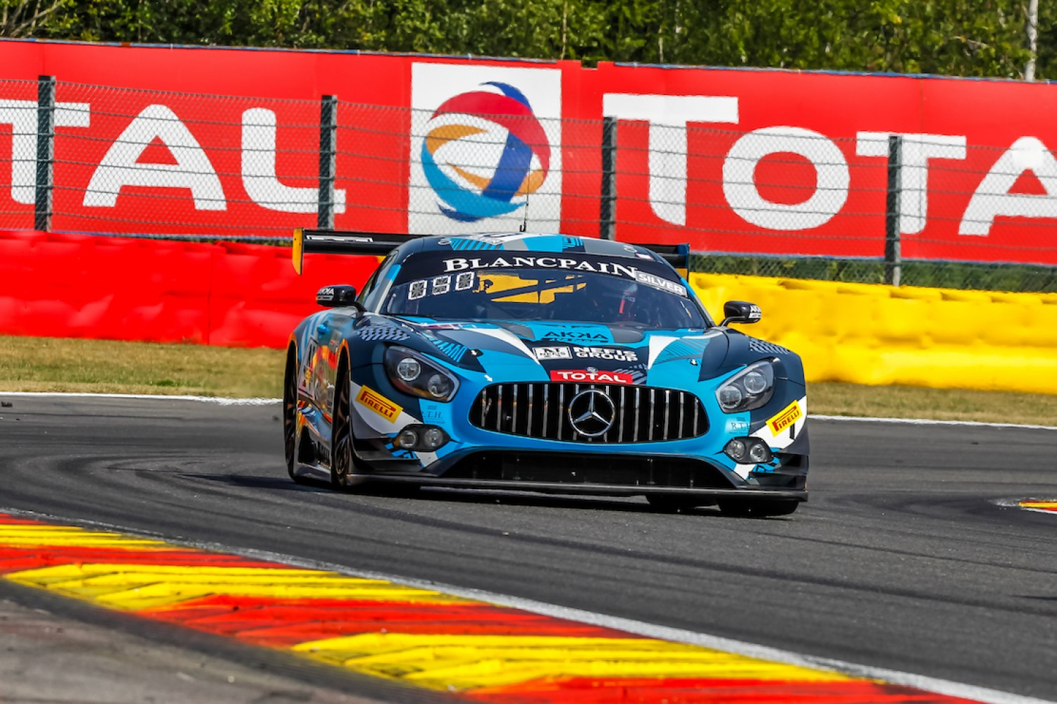 Mercedes-AMG to support AKKA ASP and new squad HRT at Total 24 Hours of Spa