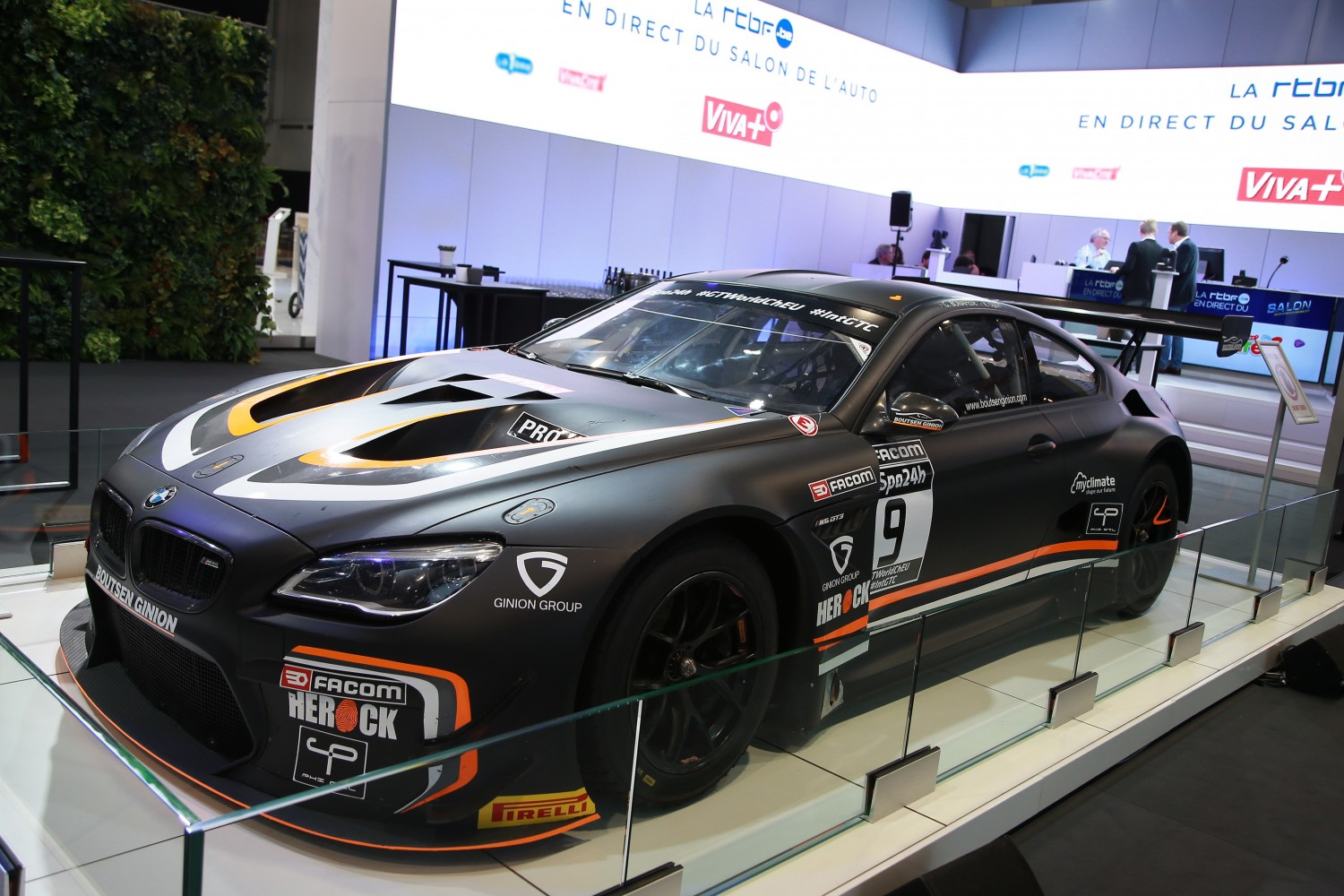 Total 24 Hours of Spa and RTBF to display Boutsen Ginion BMW M6 GT3 at Brussels Motor Show