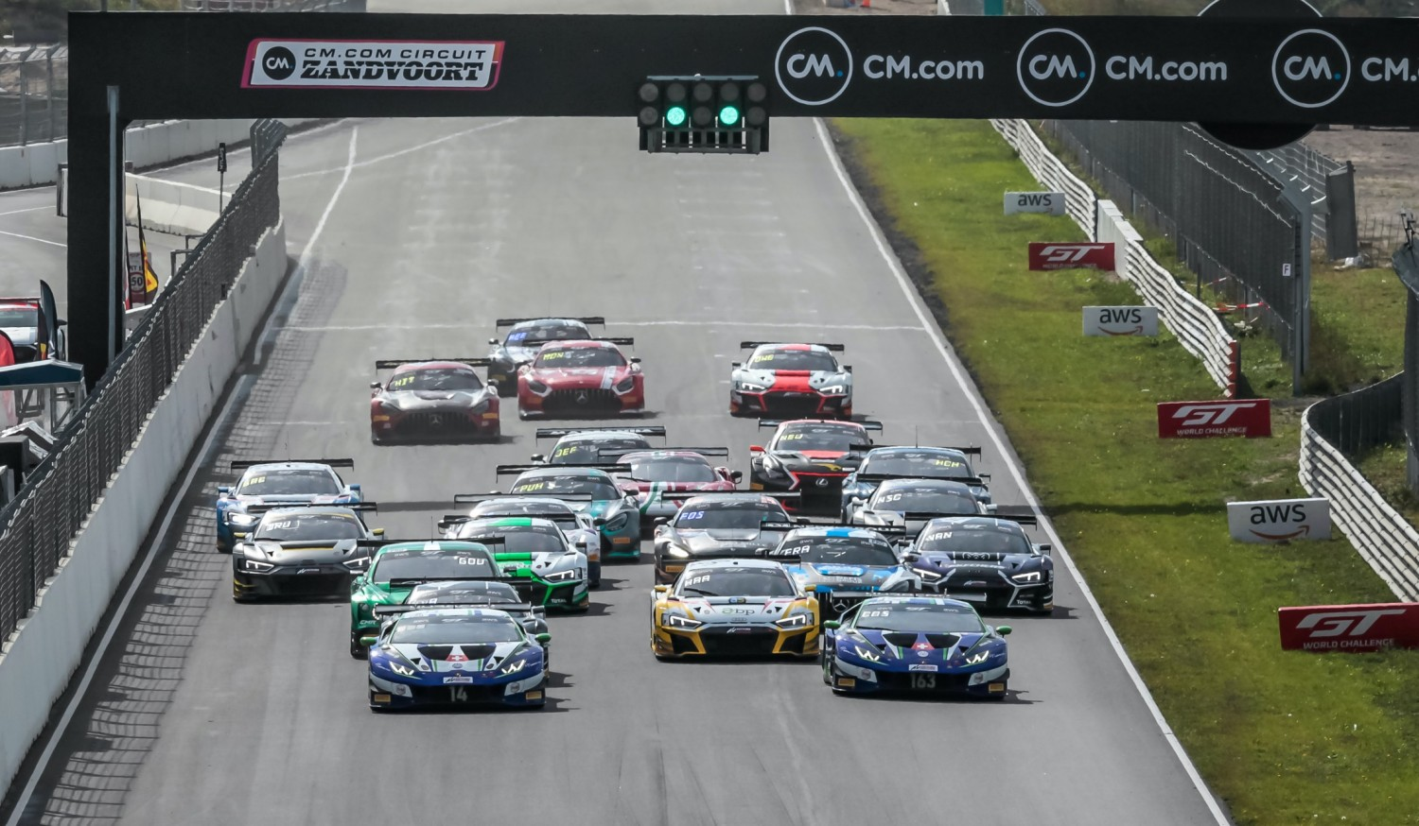 Costa and Altoè clinch maiden Sprint Cup win for Emil Frey Racing Lamborghini at Zandvoort
