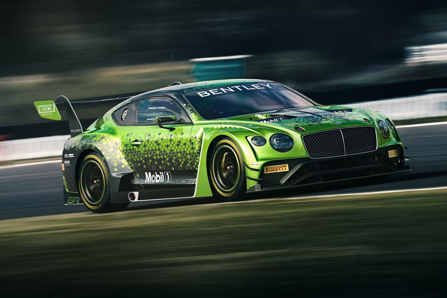 Bentley confirms factory-backed Total 24 Hours of Spa assault with M-Sport