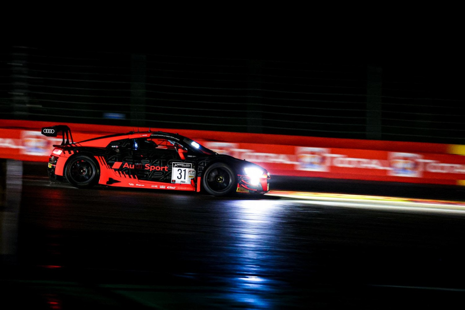 Audi Sport Team WRT leads the charge to Super Pole in Total 24 Hours of Spa qualifying