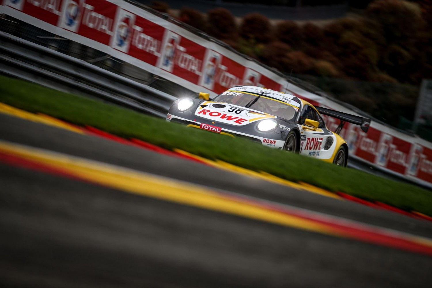 Porsche celebrates second successive Total 24 Hours of Spa victory after ROWE Racing blazes a trail to glory