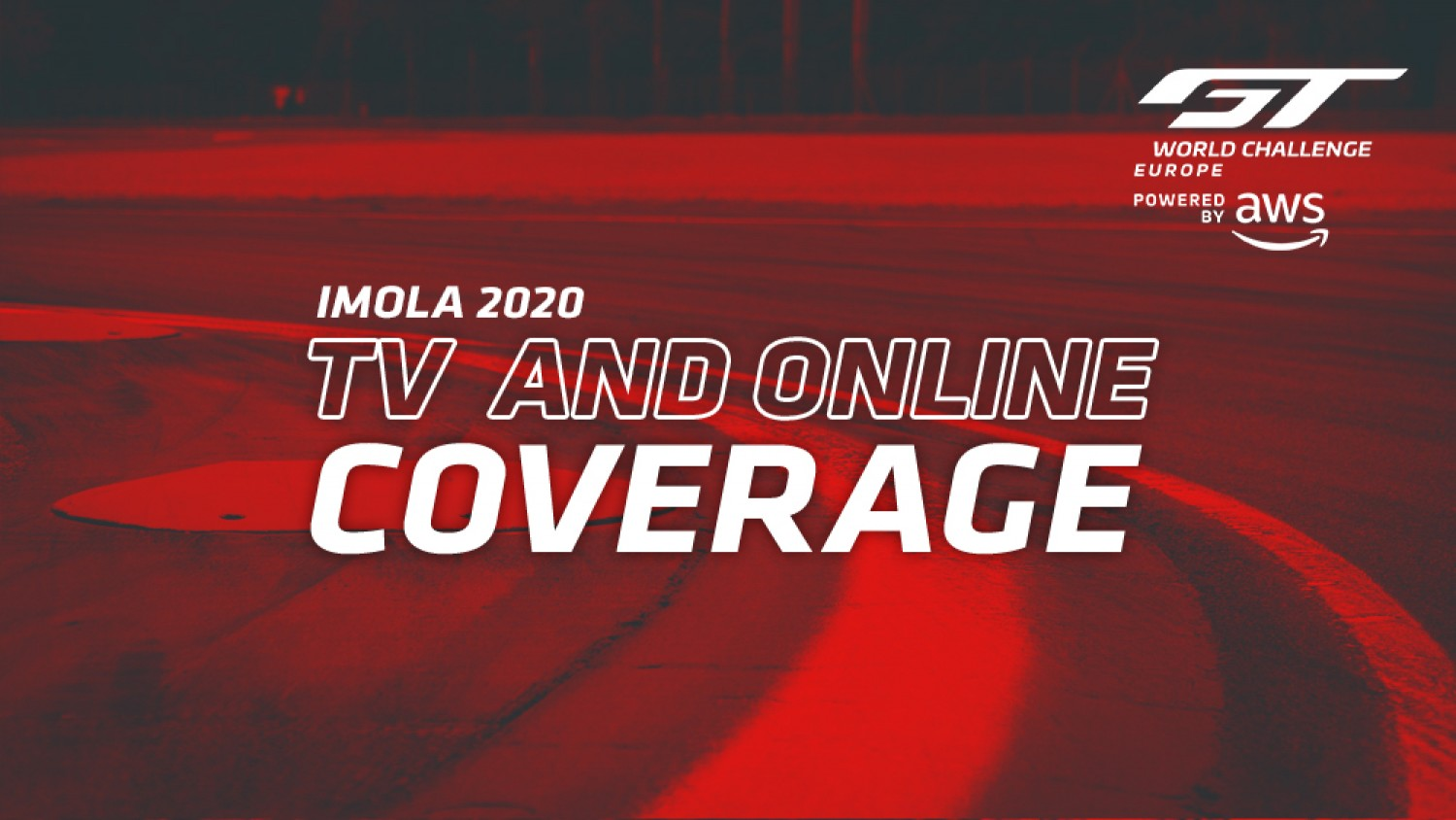 Comprehensive TV and online coverage confirmed for Endurance Cup opener at Imola