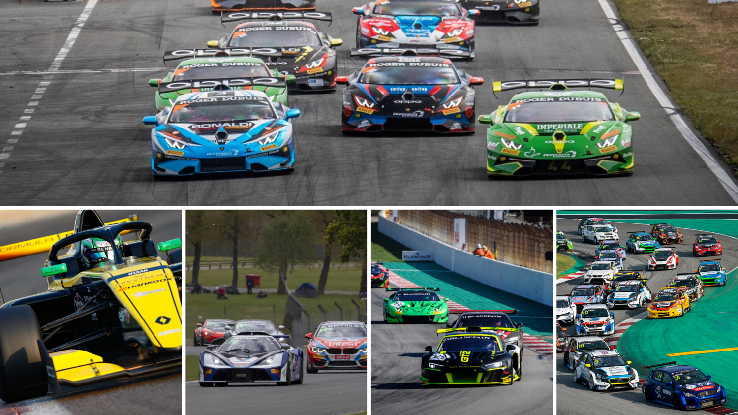 GT World Challenge Europe Powered by AWS confirms action-packed support line-up