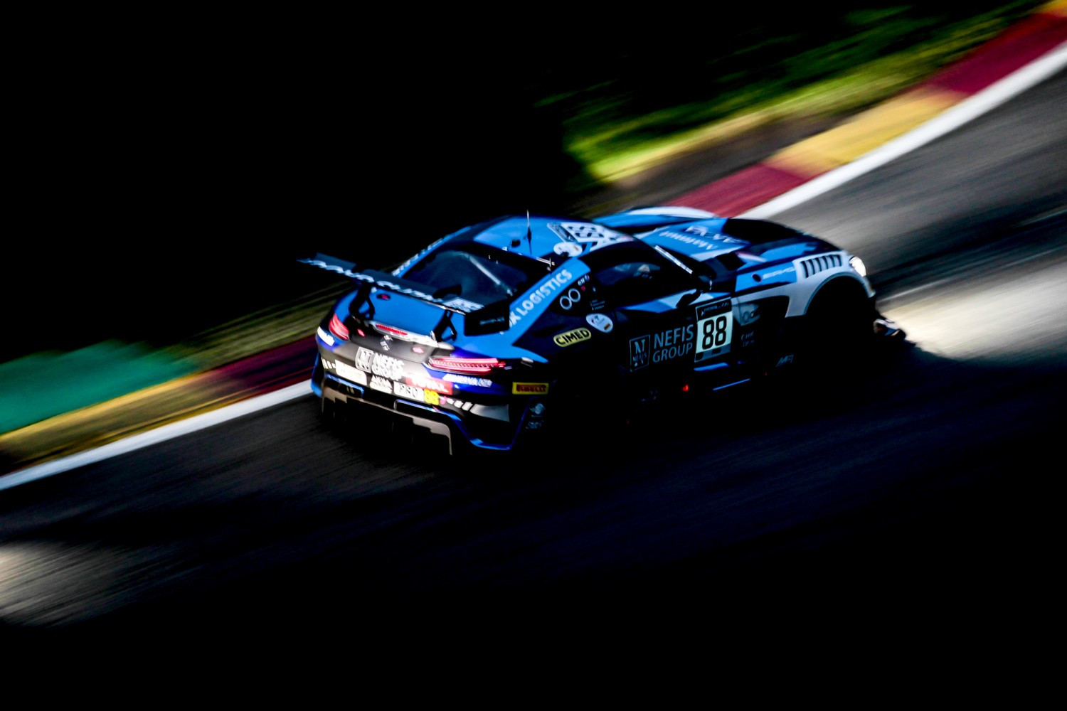 Mercedes-AMG Team AKKA ASP still in first after ten hours