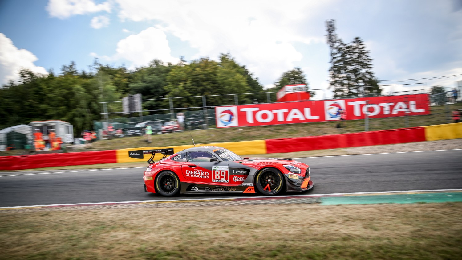 #89 Akka ASP Team FRA Mercedes-AMG GT3 AM Cup Nico Jamin FRA Philippe Giauque CHE Eric Debard FRA Fabien Barthez FRA, Free Practice  | SRO /  Kevin Pecks