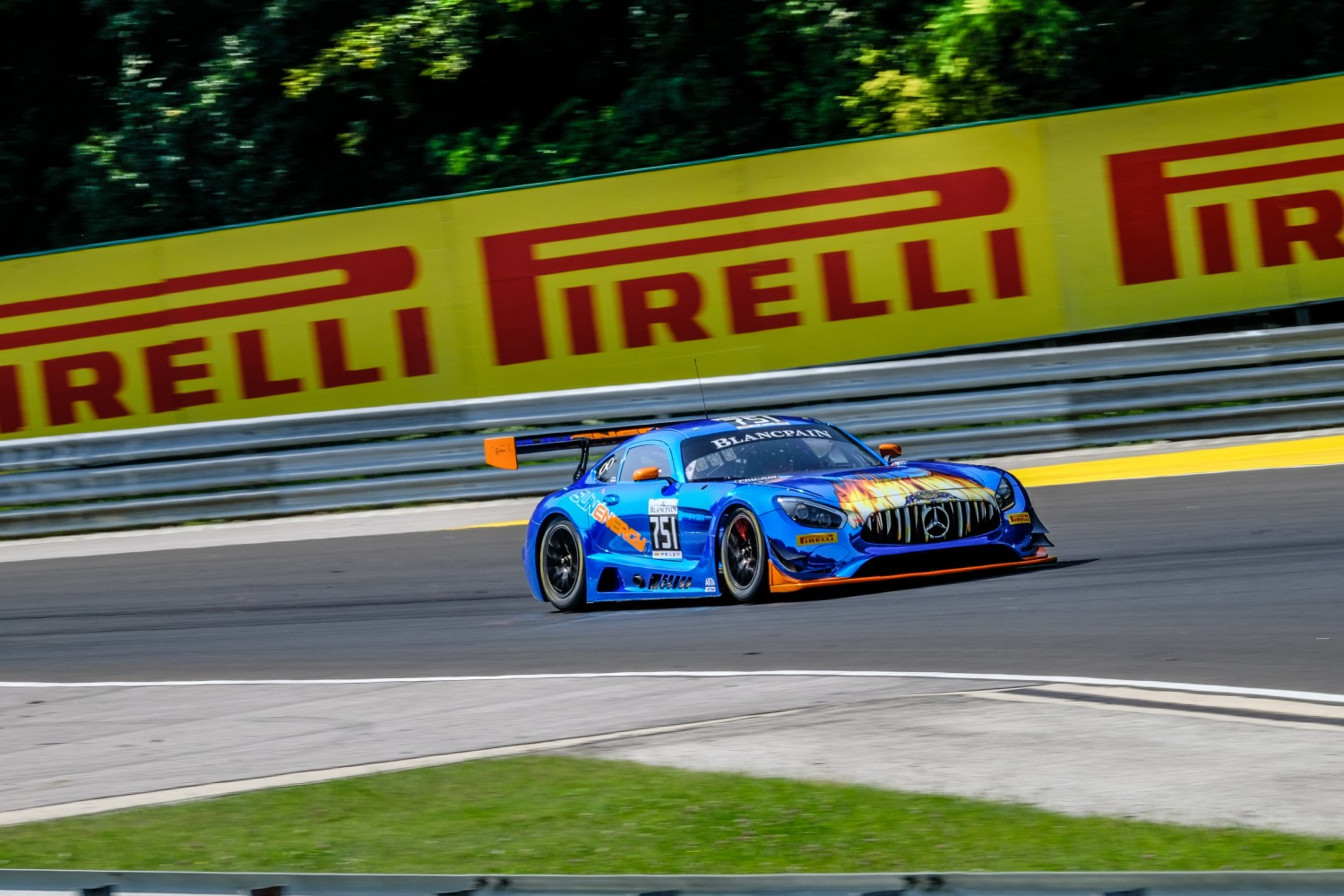 #751 Sun Energy 1 by AKKA ASP Team FRA Mercedes-AMG GT3 Pro-Am Cup Kenny Habul AUS Tristan Vautier FRA, Free Practice 1  | SRO / Dirk Bogaerts Photography