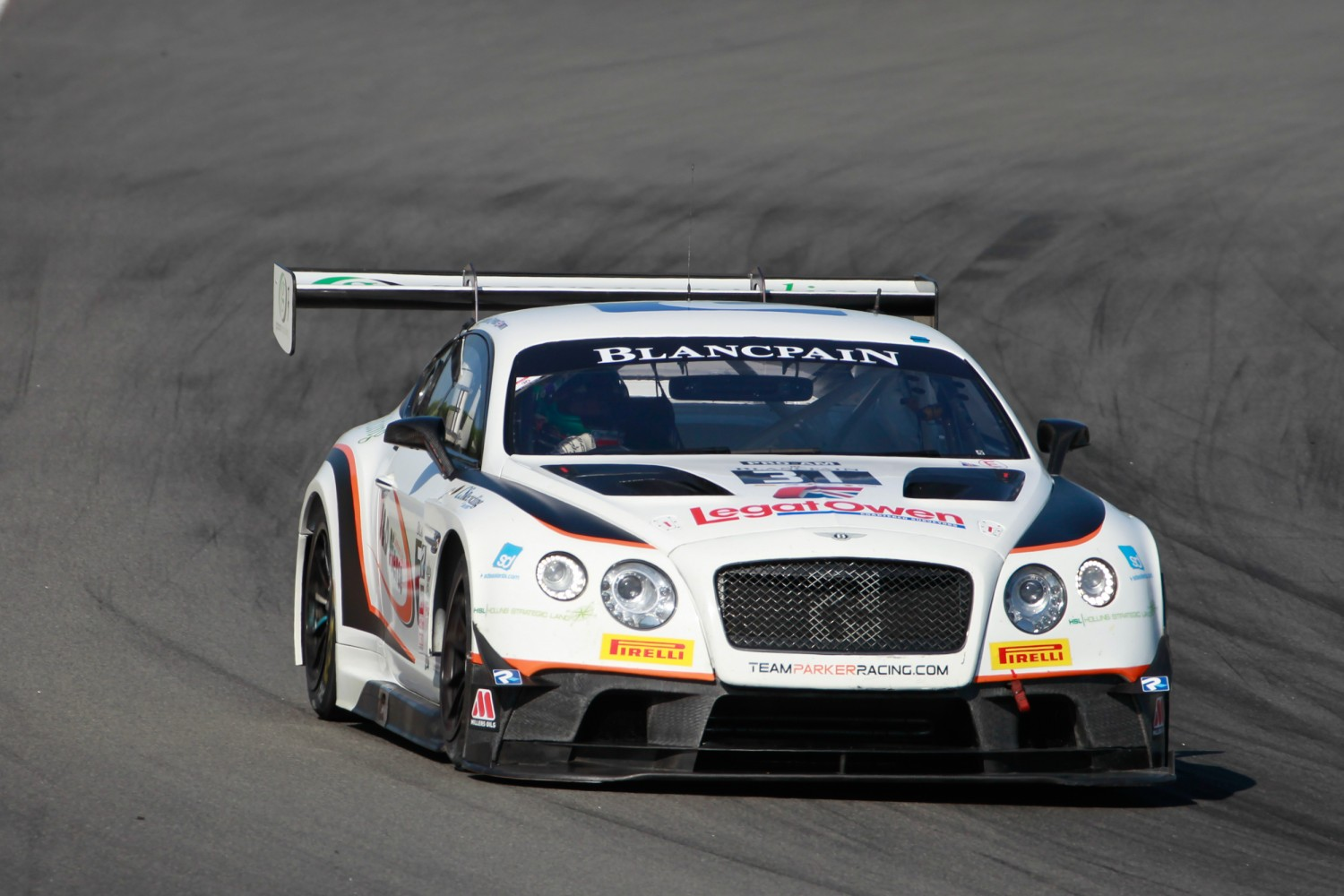 #31 Team Parker Racing GBR Bentley Continental GT3 Pro-Am Cup Derek Pierce GBR Rob Smith GBR - -, Bronze Test  | SRO / Patrick Hecq Photography