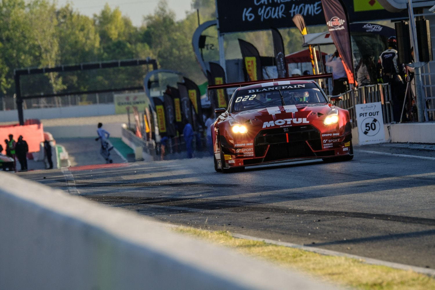 #22 GT SPORT MOTUL Team RJN GBR Nissan GT-R Nismo GT3 Silver Cup Colin Noble GBR Ricardo Sanchez MEX Struan Moore GBR, Free Practice  | SRO / Dirk Bogaerts Photography