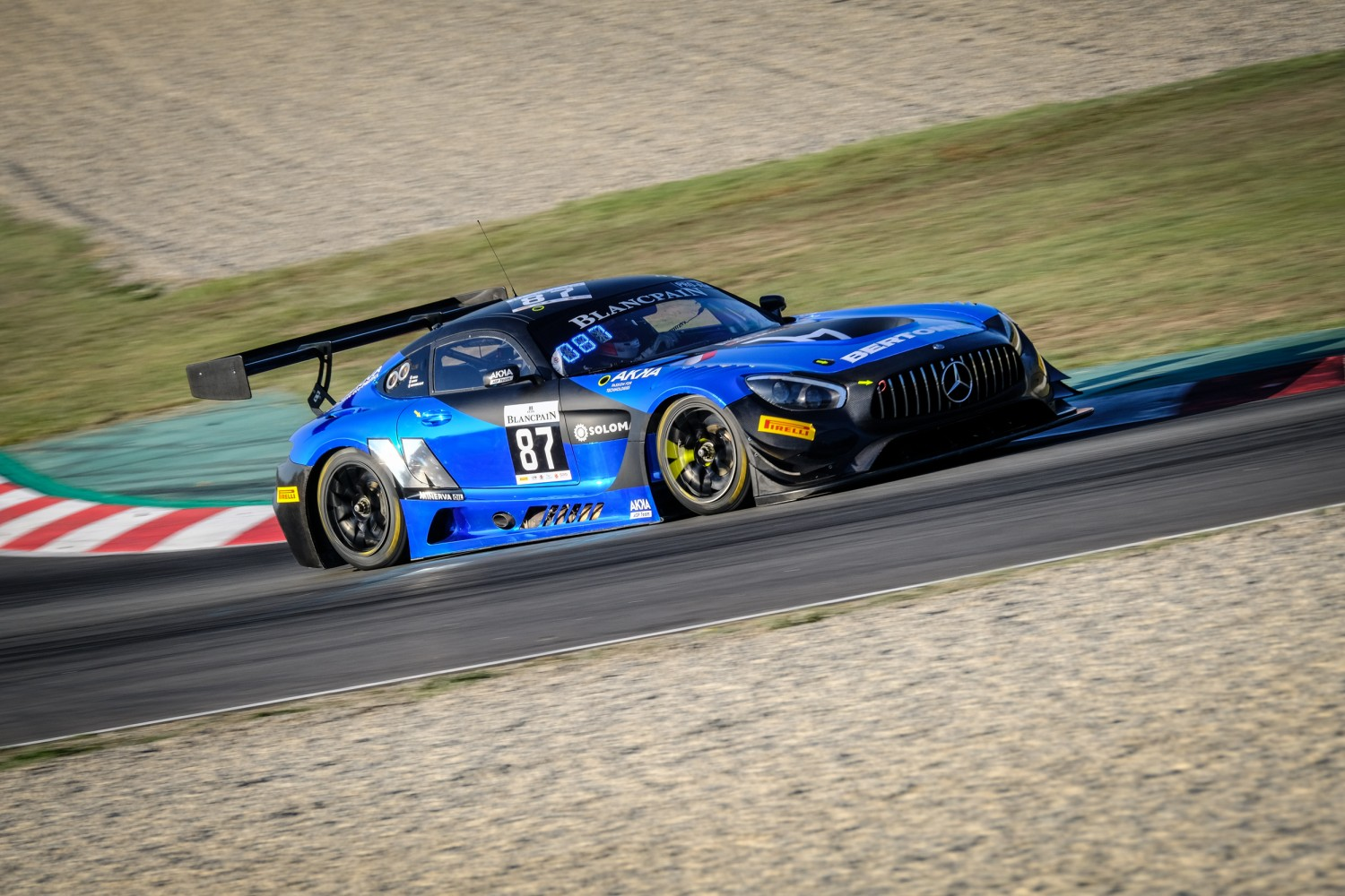 #87 Akka ASP Team FRA Mercedes-AMG GT3 Pro-Am Cup Nicolas Jamin FRA Mauro Ricci ITA Jean-Luc Beaubelique FRA, Free Practice  | SRO / Dirk Bogaerts Photography