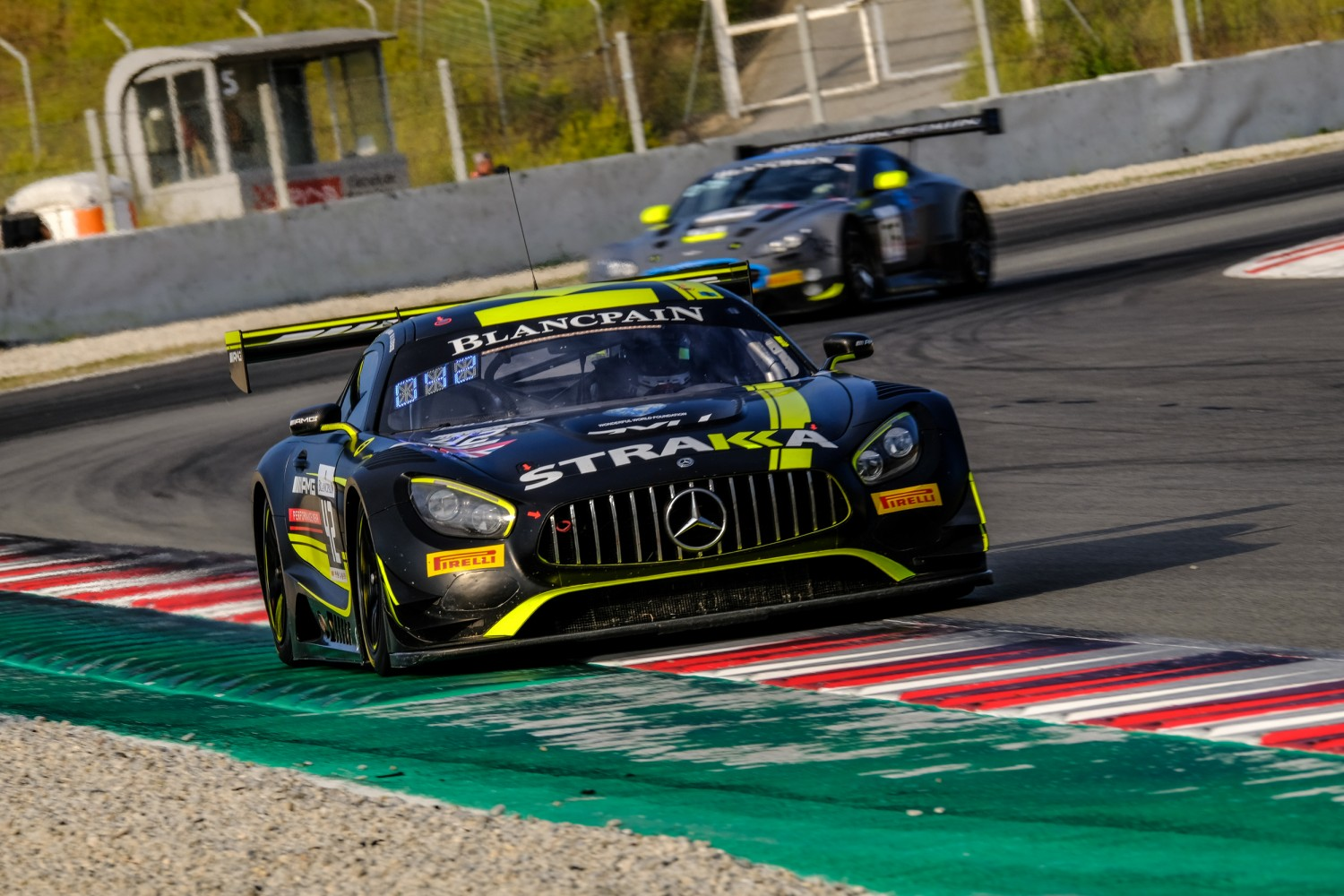 #42 Strakka Racing GBR Mercedes-AMG GT3 Pro-Am Cup Chris Buncombe GBR Nick Leventis GBR Lewis Williamson GBR, Qualifying  | SRO / Dirk Bogaerts Photography