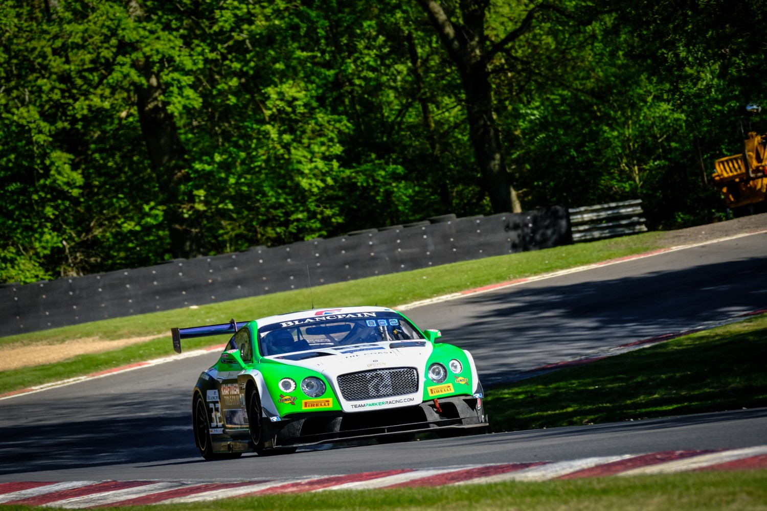 #32 Team Parker Racing GBR Bentley Continental GT3 Pro-Am Cup Ian Loggie GBR Callum Macleod GBR, Qualifying  | SRO / Dirk Bogaerts Photography