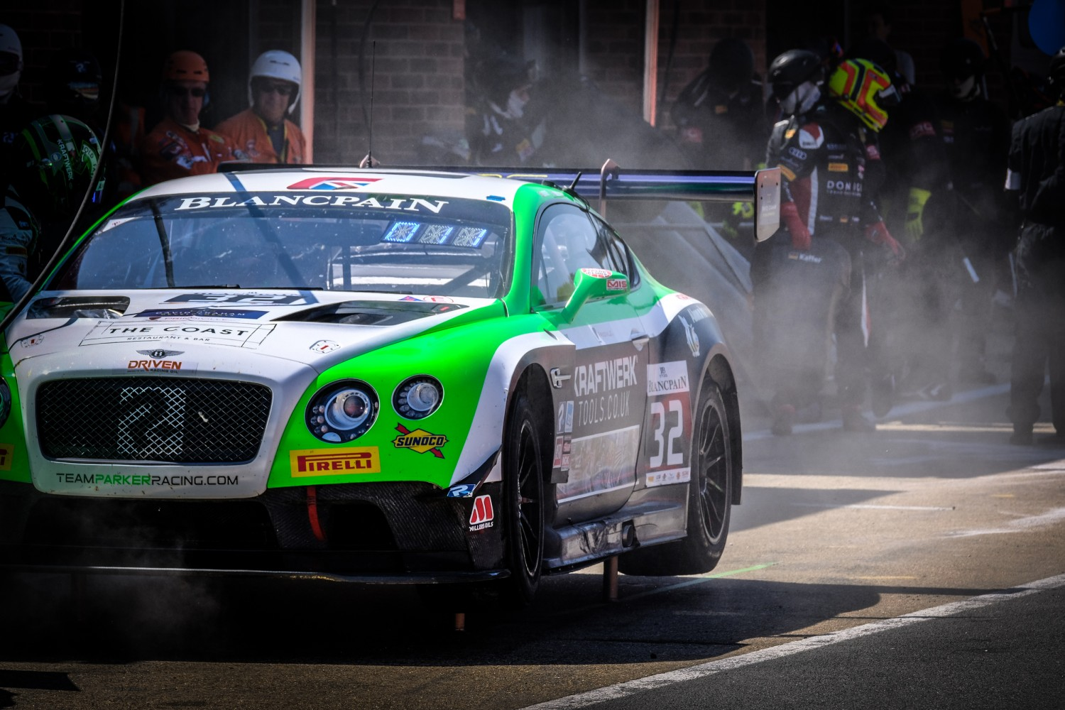 #32 Team Parker Racing GBR Bentley Continental GT3 Pro-Am Cup Ian Loggie GBR Callum Macleod GBR, Race 1  | SRO / Dirk Bogaerts Photography