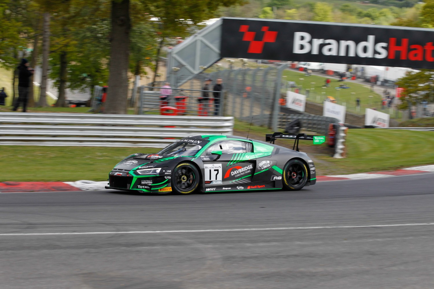 #17 Belgian Audi Club Team WRT BEL Audi R8 LMS GT3 2019 Shae Davies AUS Tom Gamble GBR Silver Cup, Cars Only  | SRO / Patrick Hecq Photography