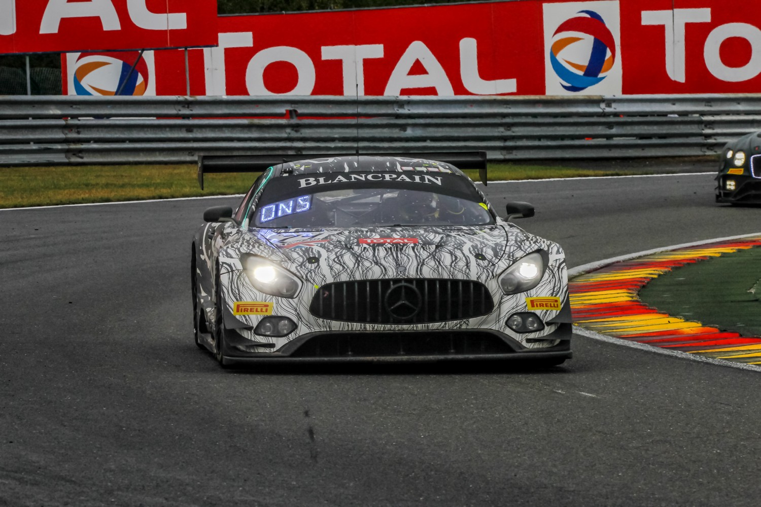 #74 Ram Racing GBR Mercedes-AMG GT3 Remon Vos NDL Darren Burke GBR Christiaan Frankenhout NDL Tom Onslow-Cole GBR Pro-Am Cup, Race  | SRO / Patrick Hecq Photography