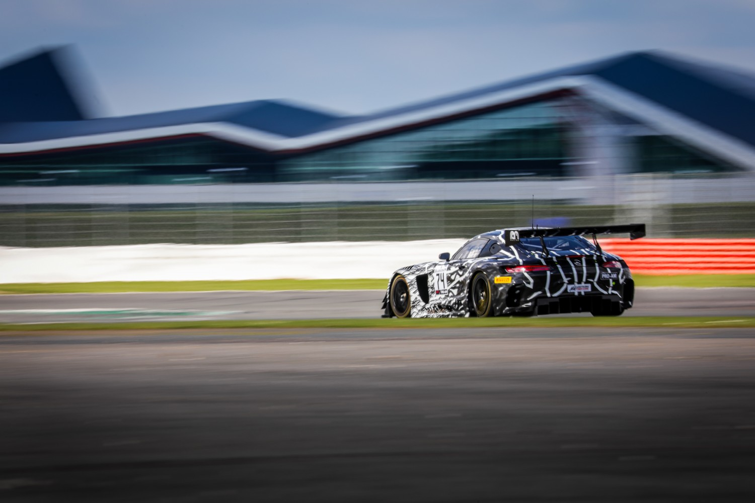 #74 Ram Racing GBR Mercedes-AMG GT3 Remon Vos NDL - - Tom Onslow-Cole GBR Pro-Am Cup, Free Practice  | SRO Motorsports Group