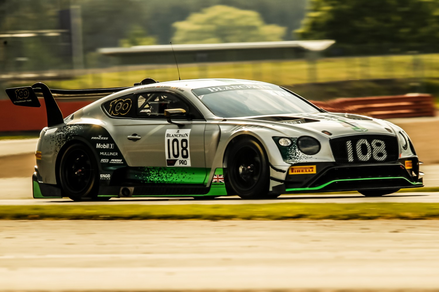 #108 Bentley Team M-Sport GBR Bentley Continental GT3 Alex Buncombe GBR Andy Soucek ESP Maxime Soulet BEL -  | SRO / Patrick Hecq Photography