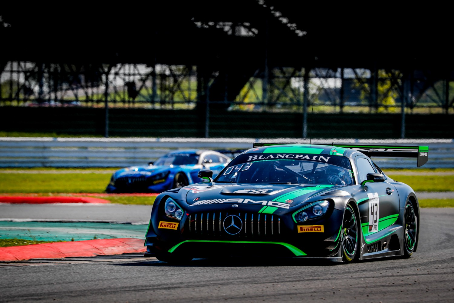 #43 Strakka Racing GBR Mercedes-AMG GT3 Jack Hawksworth GBR Dev Gore USA Lewis Williamson GBR -, Qualifying  | Jules_Benichou