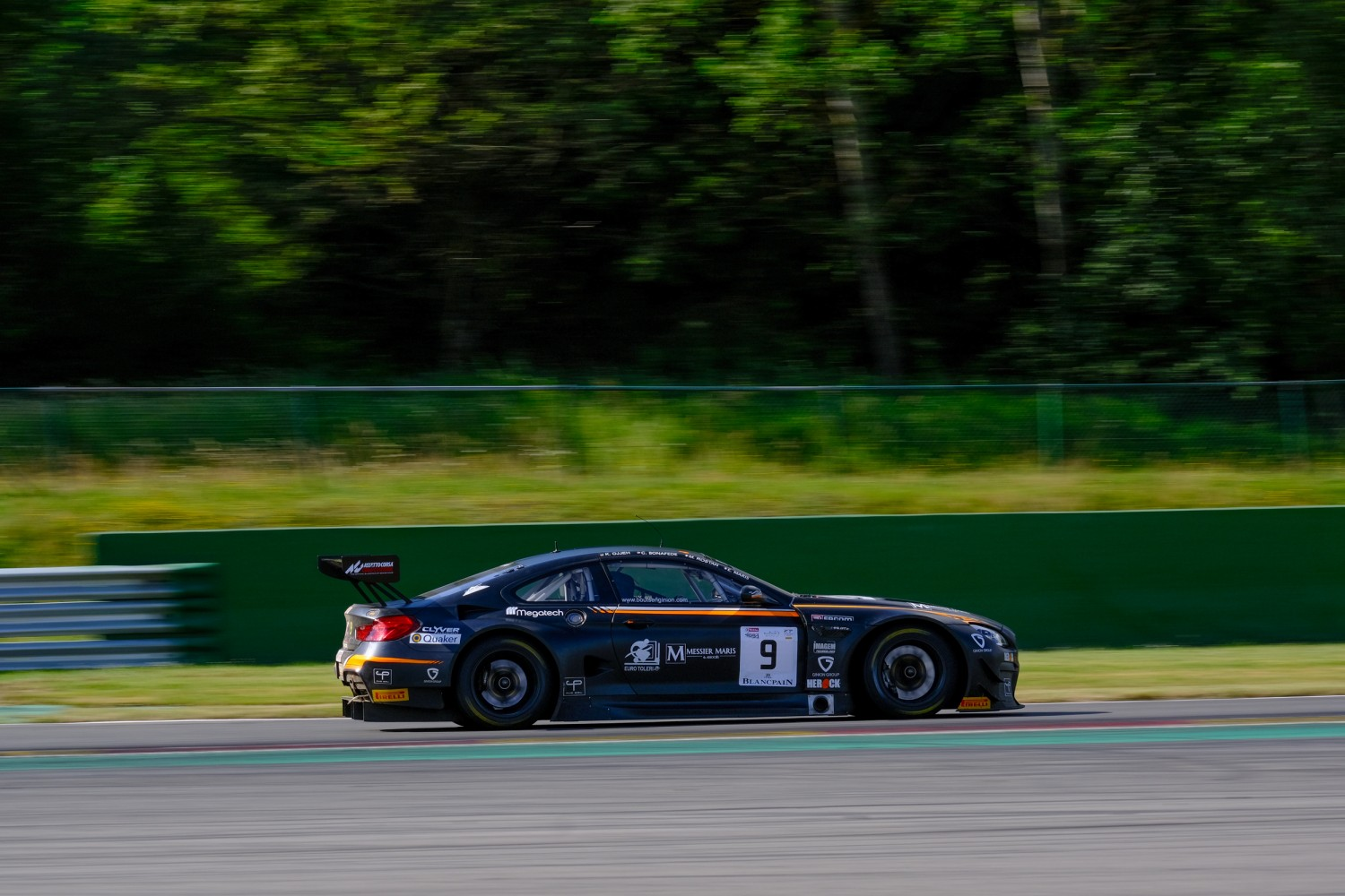 #9 Boutsen Ginion BEL BMW M6 GT3, Track  | SRO / Dirk Bogaerts Photography