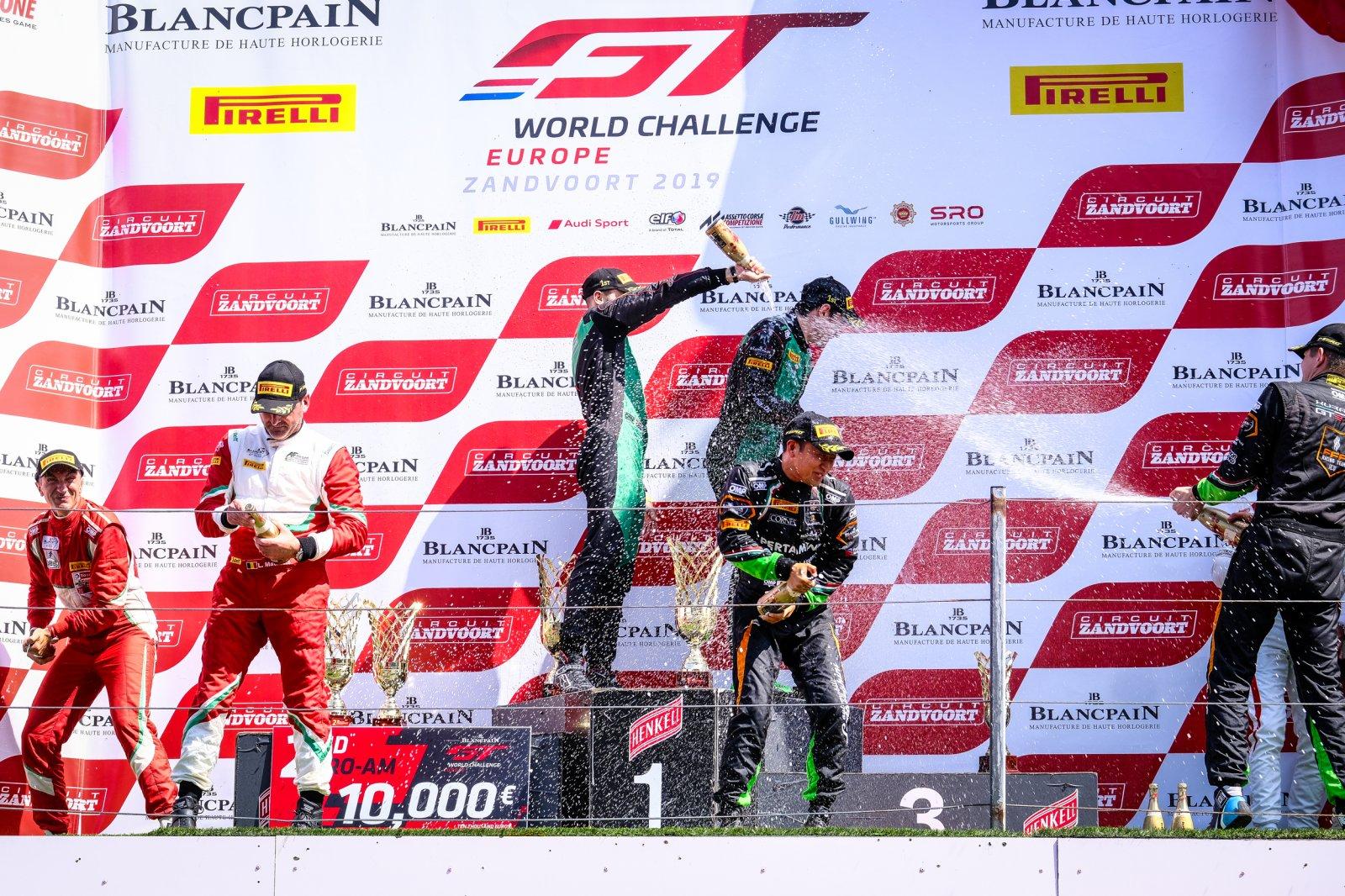 Podium, Race 2