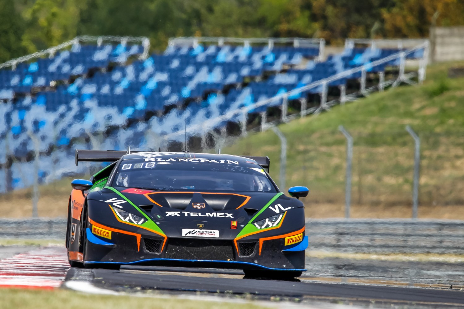 #555 Orange 1 FFF Racing Team CHN Lamborghini Huracan GT3 2019 Diego Menchaca MEX Taylor Proto GBR Silver Cup, Free Practice 1  | SRO / Patrick Hecq Photography