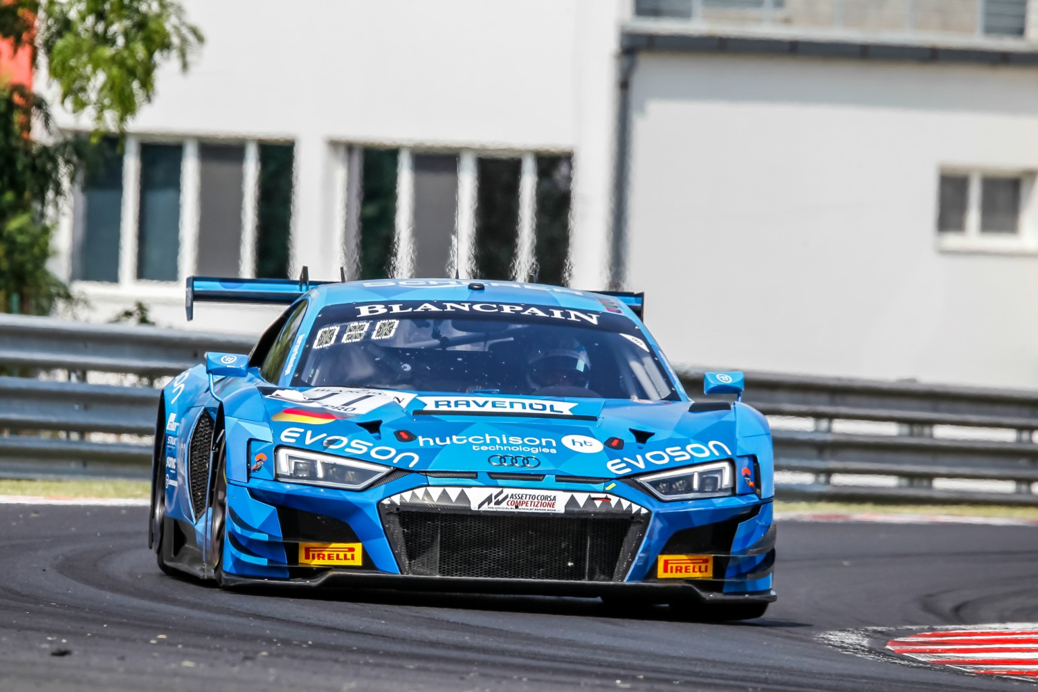#11 Phoenix Racing DEU Audi R8 LMS GT3 2019 Finlay Hutchison GBR Frederic Vervisch BEL -, Free Practice 1  | SRO / Patrick Hecq Photography
