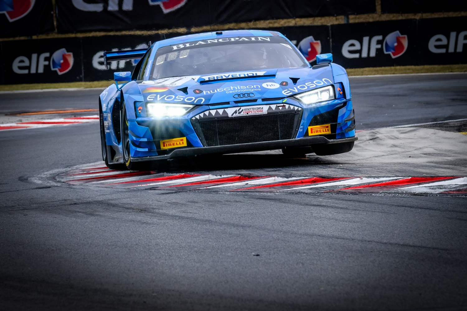 #11 Phoenix Racing DEU Audi R8 LMS GT3 2019 Finlay Hutchison GBR Frederic Vervisch BEL -, Qualifying  | SRO / Dirk Bogaerts Photography