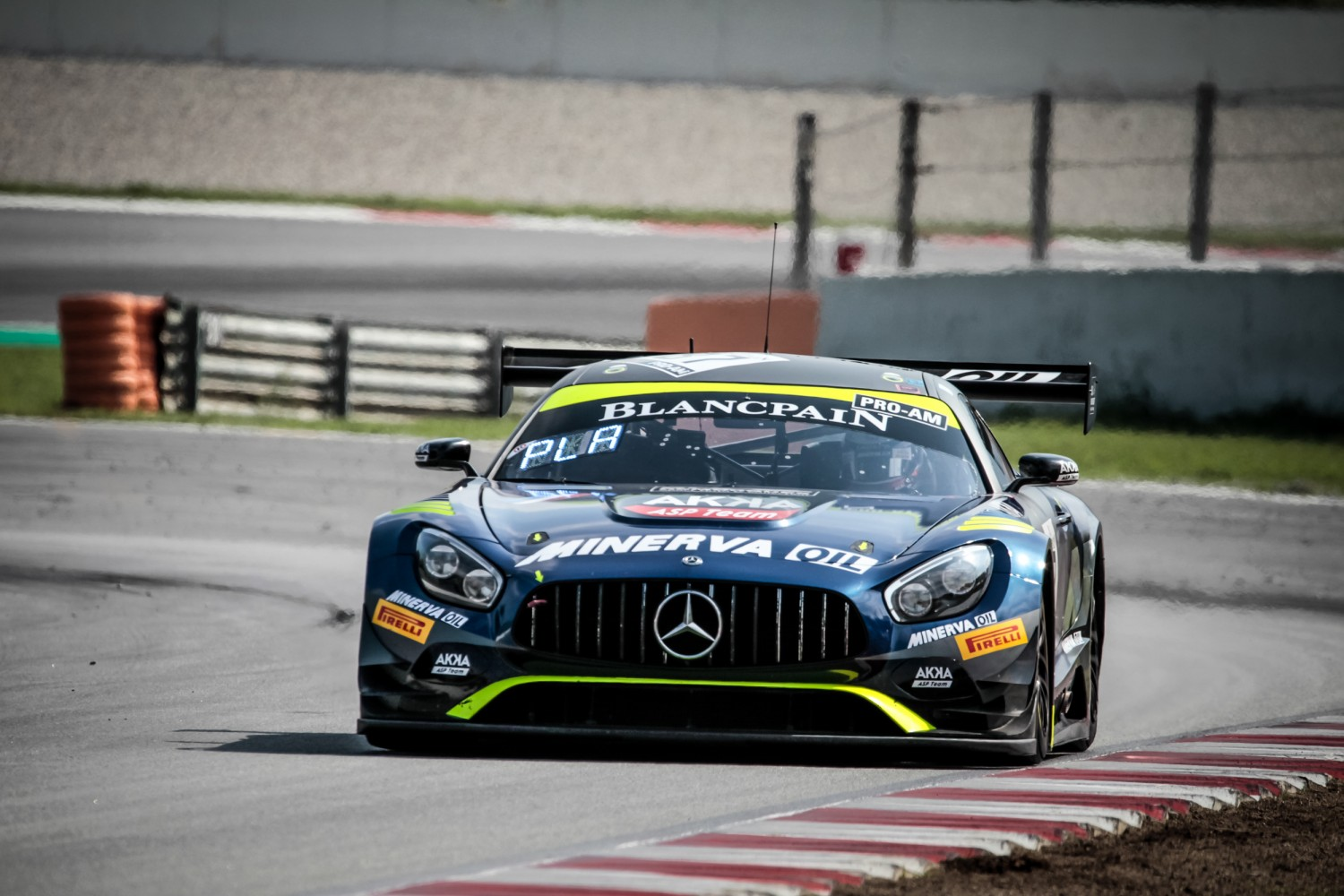 #87 Akka ASP Team FRA Mercedes-AMG GT3 Jim Pla FRA Mauro Ricci ITA Jean-Luc Beaubelique FRA Pro-Am Cup, Friday Sessions  | SRO / Patrick Hecq Photography