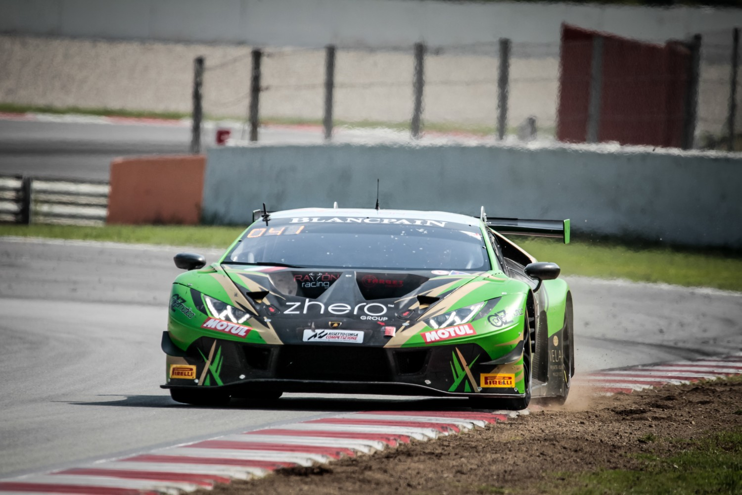 #29 Raton Racing by Target ITA Lamborghini Huracan GT3 2019 Stefano Costantini ITA Antonio Forne Tomas ESP Christoph Lenz CHE Am Cup, Friday Sessions  | SRO / Patrick Hecq Photography