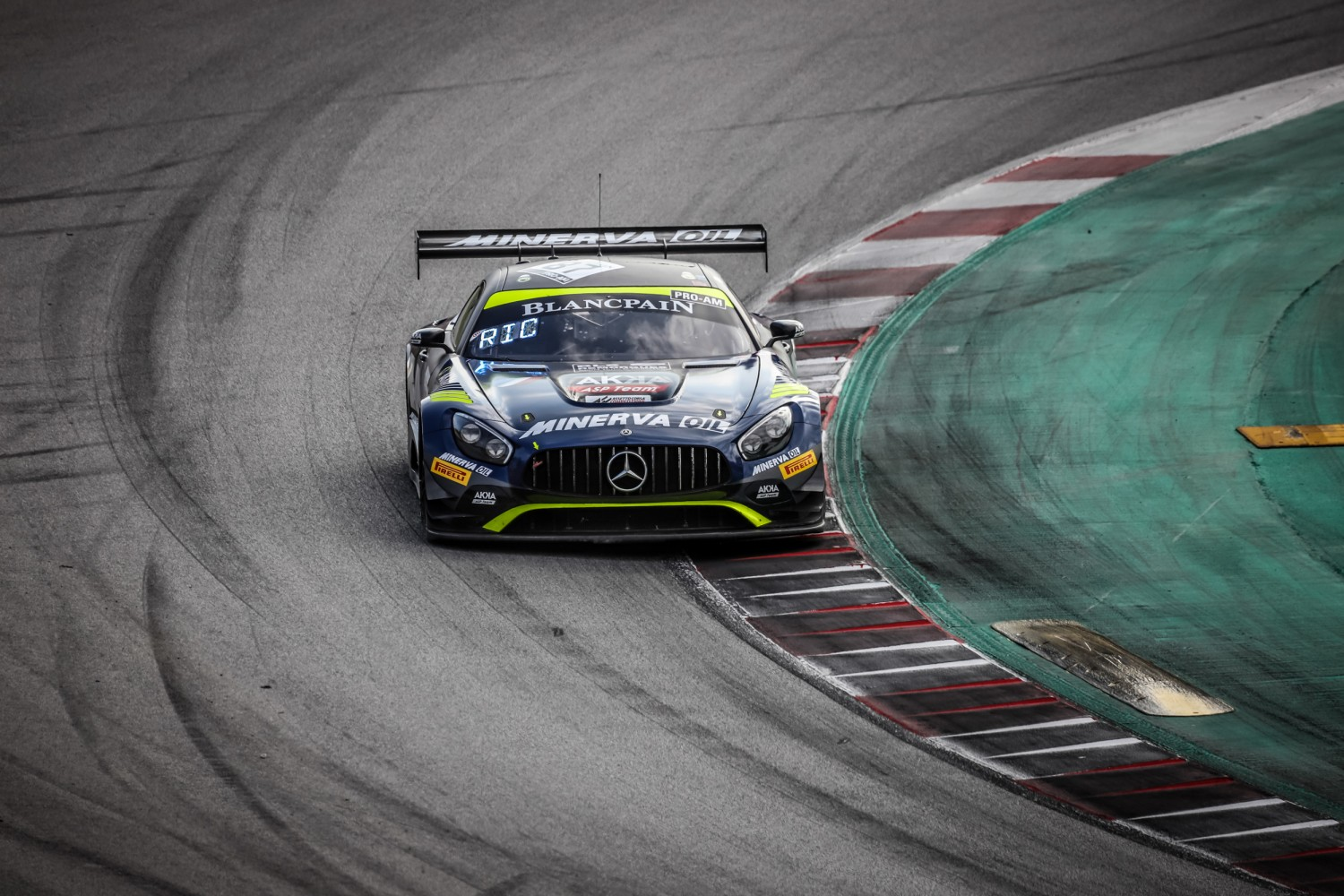 #87 Akka ASP Team FRA Mercedes-AMG GT3 Jim Pla FRA Mauro Ricci ITA Jean-Luc Beaubelique FRA Pro-Am Cup, Free Practice  | SRO / Patrick Hecq Photography