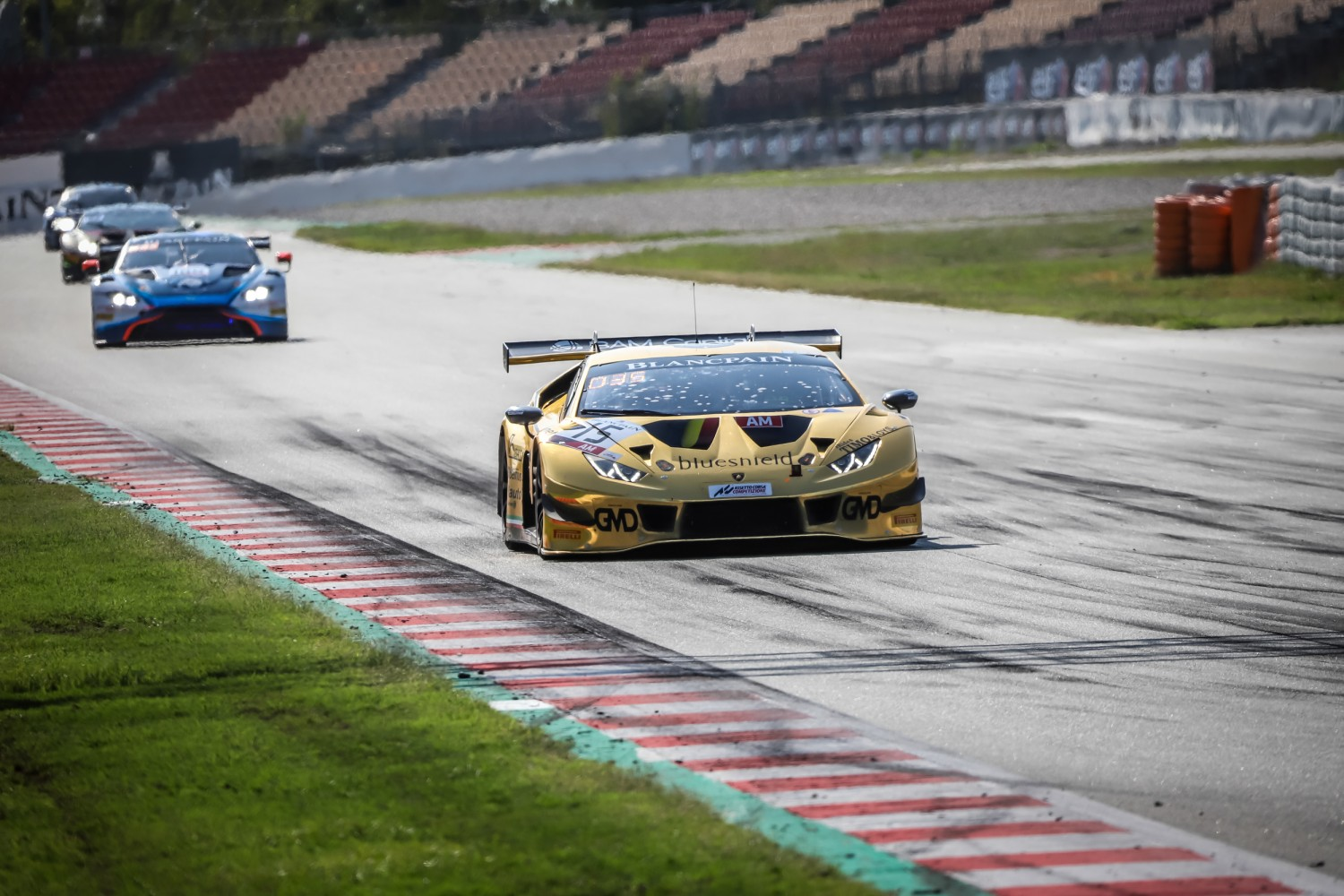 #15 Boutsen Ginion BEL Lamborghini Huracan GT3 2019 Claude-Yves Gosselin FRA Marc Rostan FRA Renaud Kuppens BEL Am Cup, Pre-Qualifying  | SRO / Patrick Hecq Photography