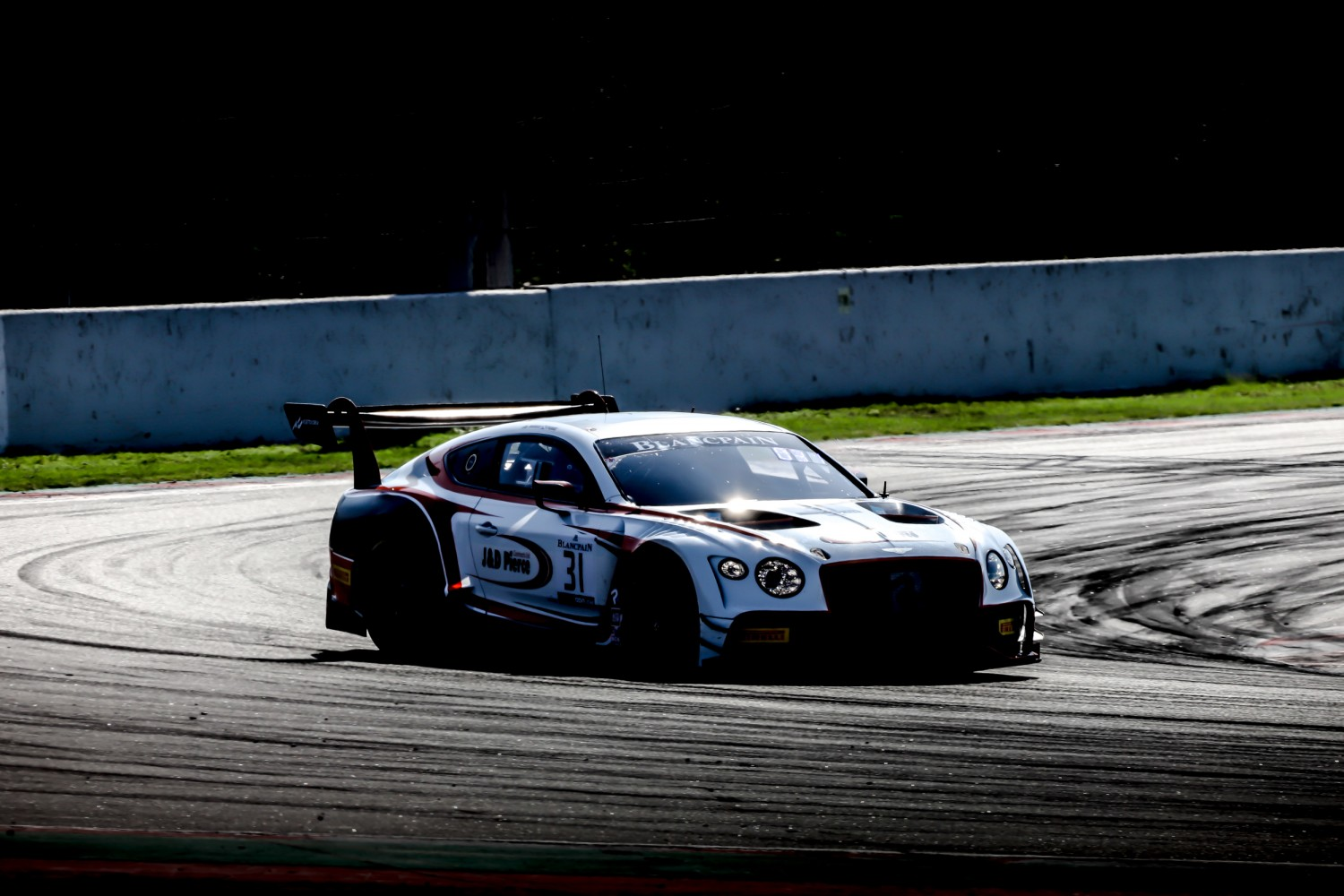 #31 Team Parker Racing GBR Bentley Continental GT3 Derek Pierce GBR - - Seb Morris GBR Pro-Am Cup, Pre-Qualifying  | SRO / Patrick Hecq Photography