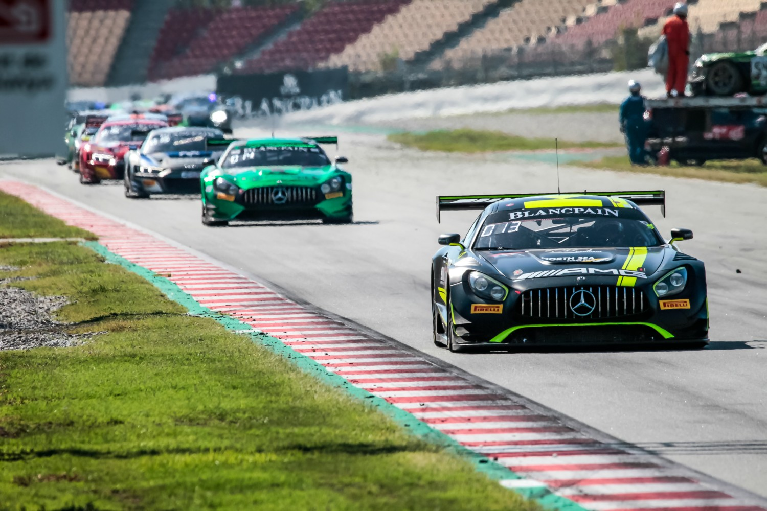 #43 Strakka Racing GBR Mercedes-AMG GT3 Romain Monti FRA Max Koebolt NDL Esteban Muth BEL Silver Cup, Race  | SRO / Patrick Hecq Photography
