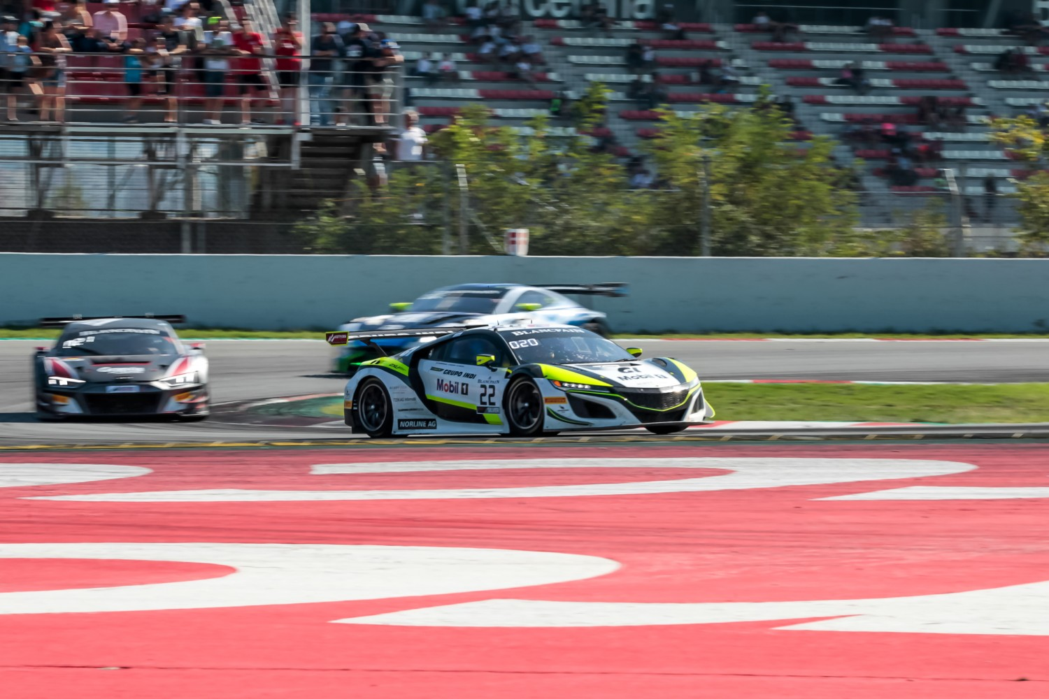 #22 Jenson Team Rocket RJN GBR Honda Acura NSX GT3 2019 Ricardo Sanchez MEX Matt McMurry USA Philipp Frommenwiler CHE Silver Cup, Race  | SRO / Patrick Hecq Photography