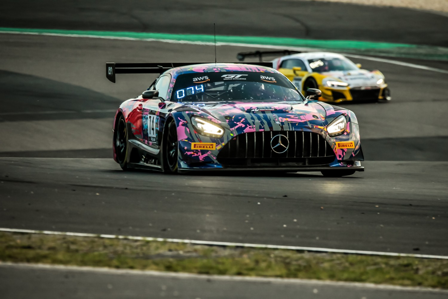 #74 Ram Racing GBR Mercedes-AMG GT3 Pro-Am Cup Remon Vos NDL Martin Konrad AUT Tom Onslow-Cole GBR, Qualifying  | SRO / Patrick Hecq Photography