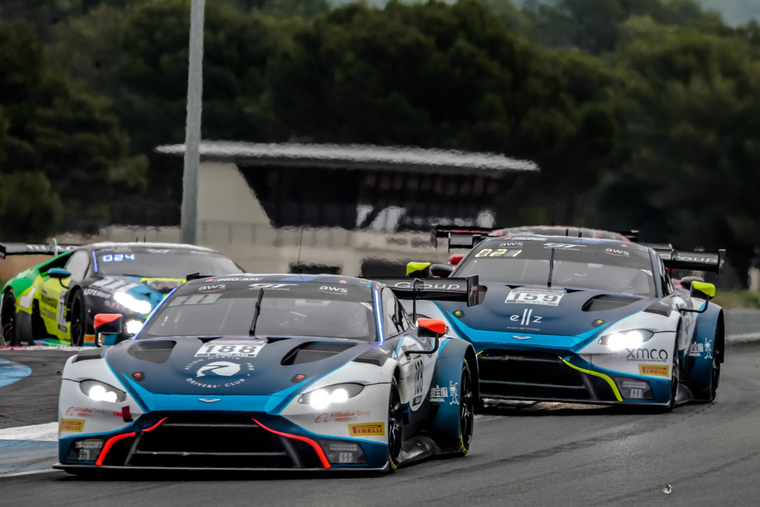 #188 Garage 59 GBR Aston Martin Vantage AMR GT3 Pro-Am Cup Alex West SWE Chris Goodwin GBR Marvin Kirchhofer DEU, Race  | SRO / Patrick Hecq Photography