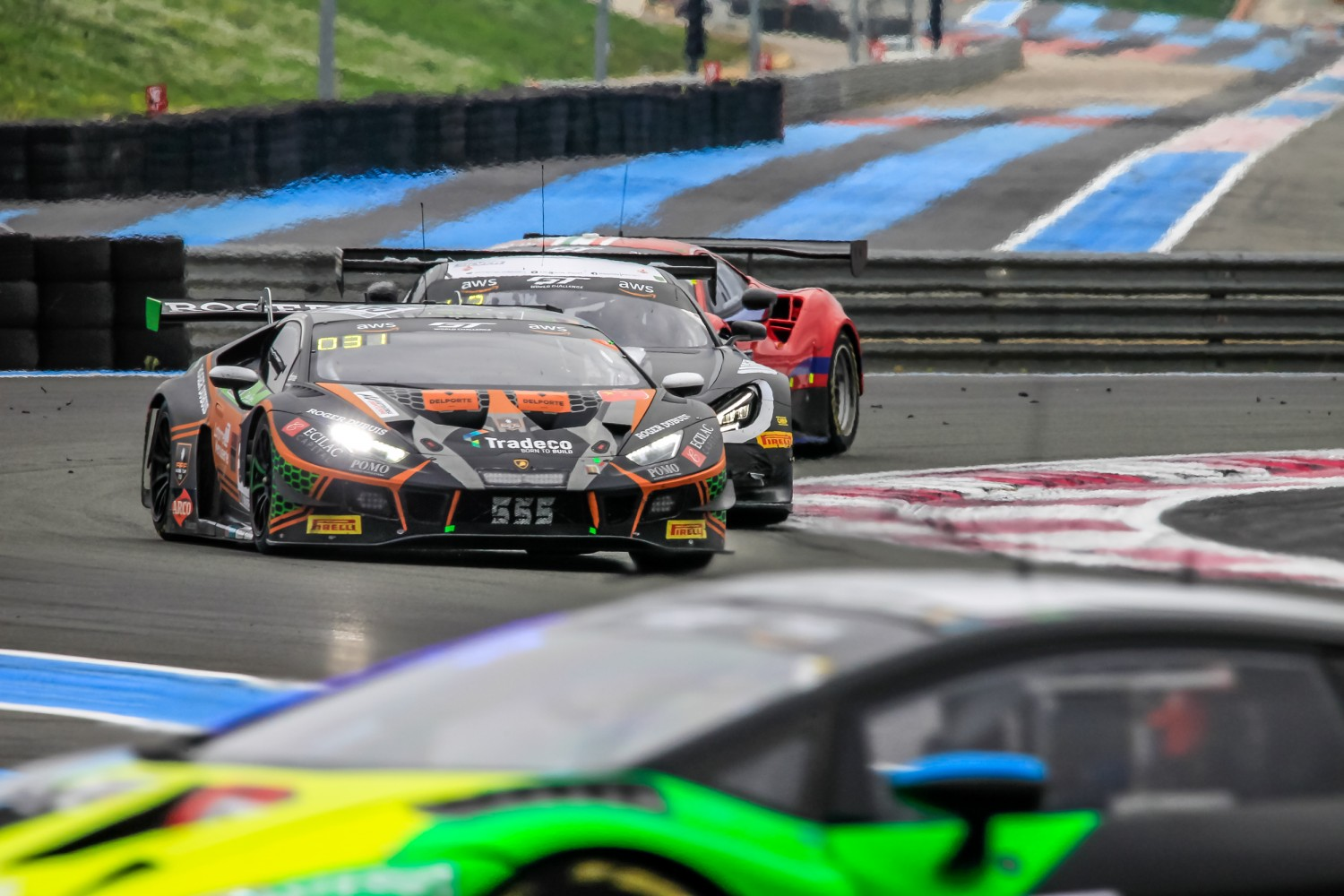#555 Orange 1 FFF Racing Team CHN Lamborghini Huracan GT3 Evo Silver Cup Baptiste Moulin BEL Taylor Proto GBR Florian Latorre FRA, Race  | SRO / Patrick Hecq Photography