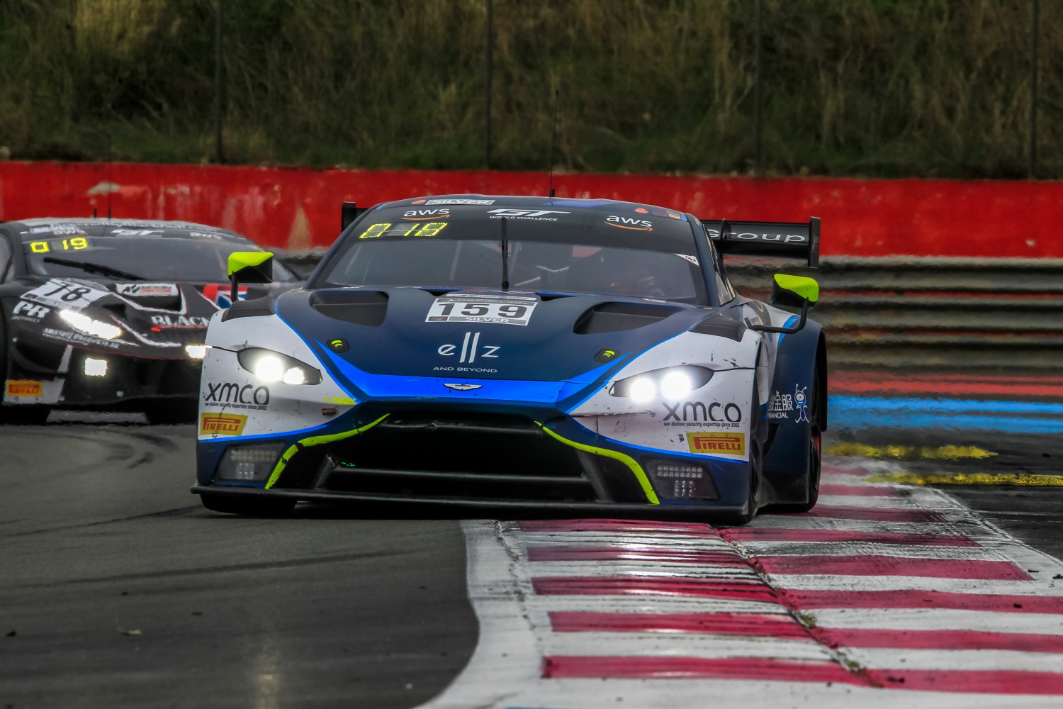 #159 Garage 59 GBR Aston Martin Vantage AMR GT3 Silver Cup Valentin Hasse Clot FRA Andrew Watson GBR James Pull GBR  | SRO / Patrick Hecq Photography