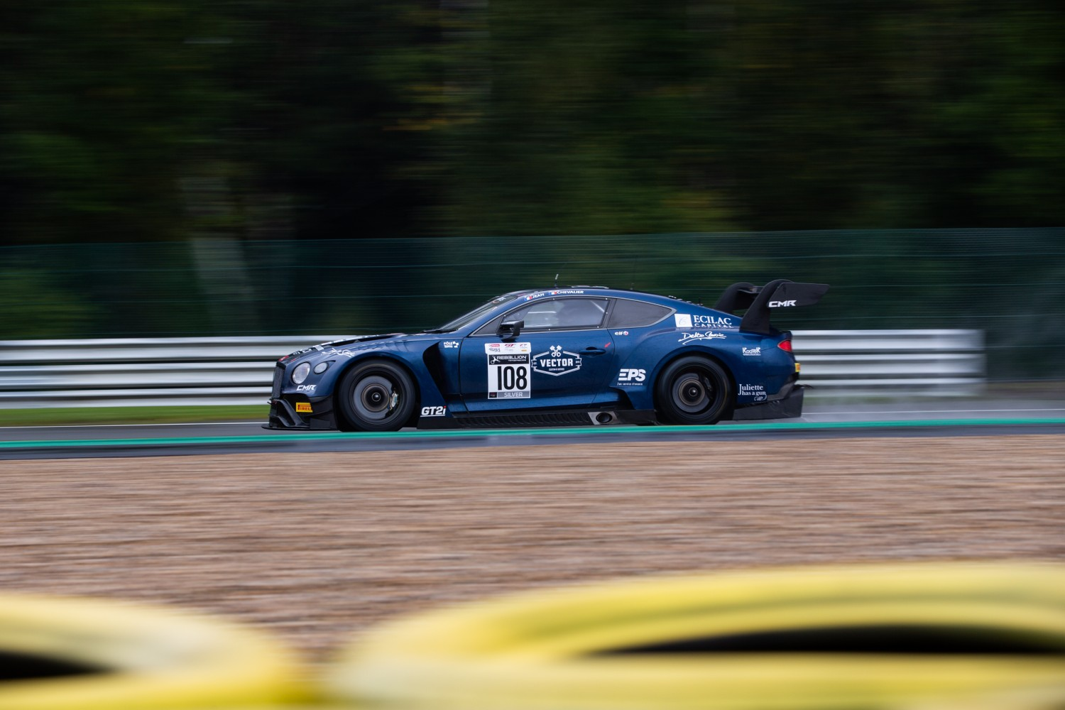 #108 CMR FRA Bentley Continental GT3 Pro-Am Cup  | SRO Motorsports Group