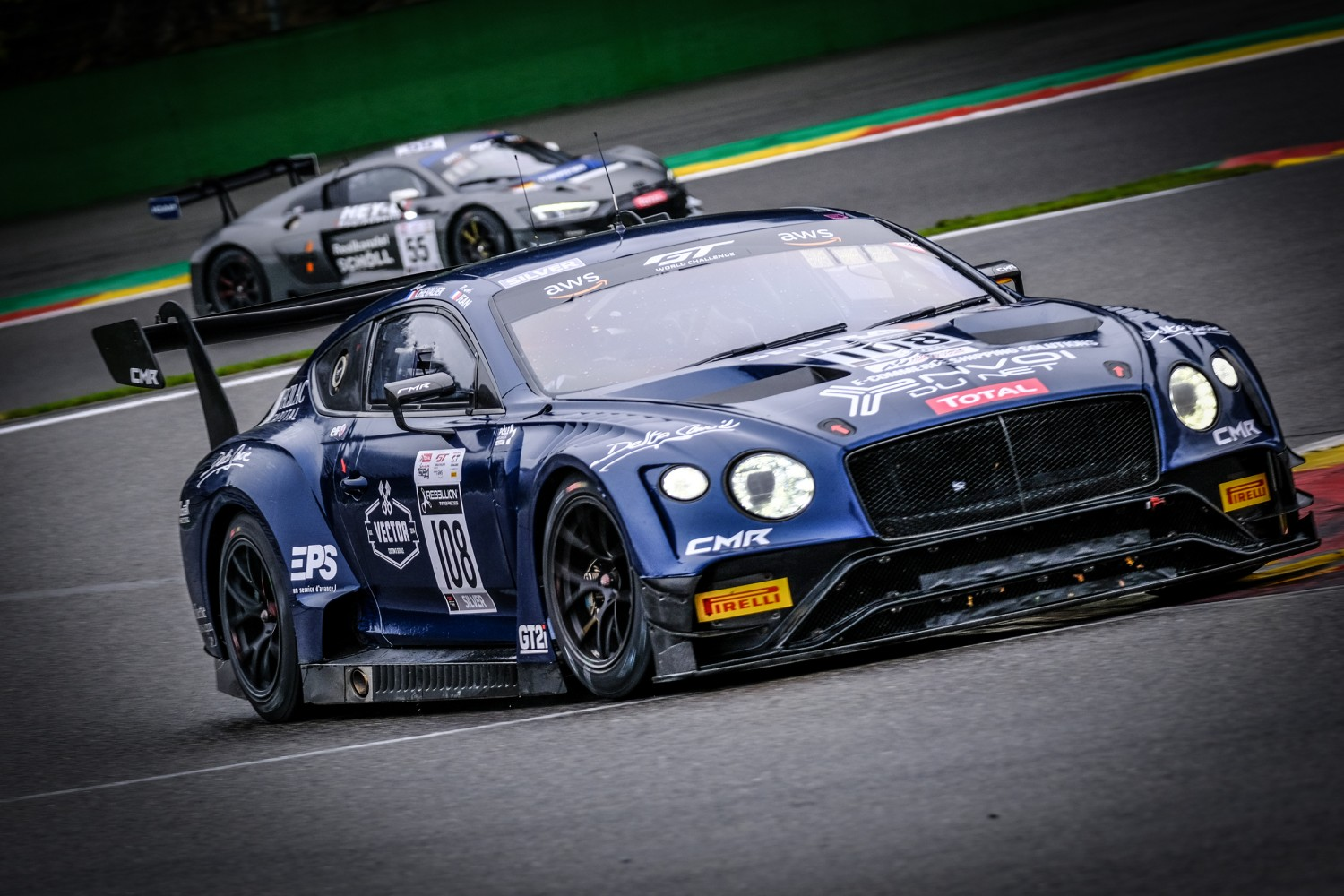 #108 CMR FRA Bentley Continental GT3 Pro-Am Cup, Test Days Total 24H of Spa  | SRO / Dirk Bogaerts Photography