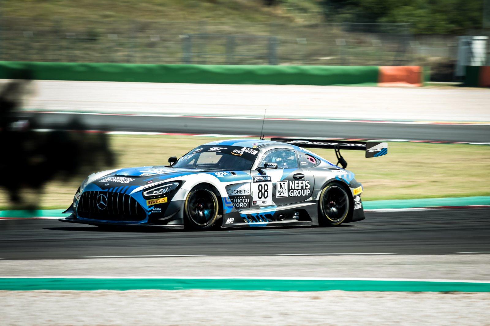 #88 AKKA ASP FRA Mercedes-AMG GT3 - Raffaele Marciello ITA Timur Boguslavskiy RUS, Race 3