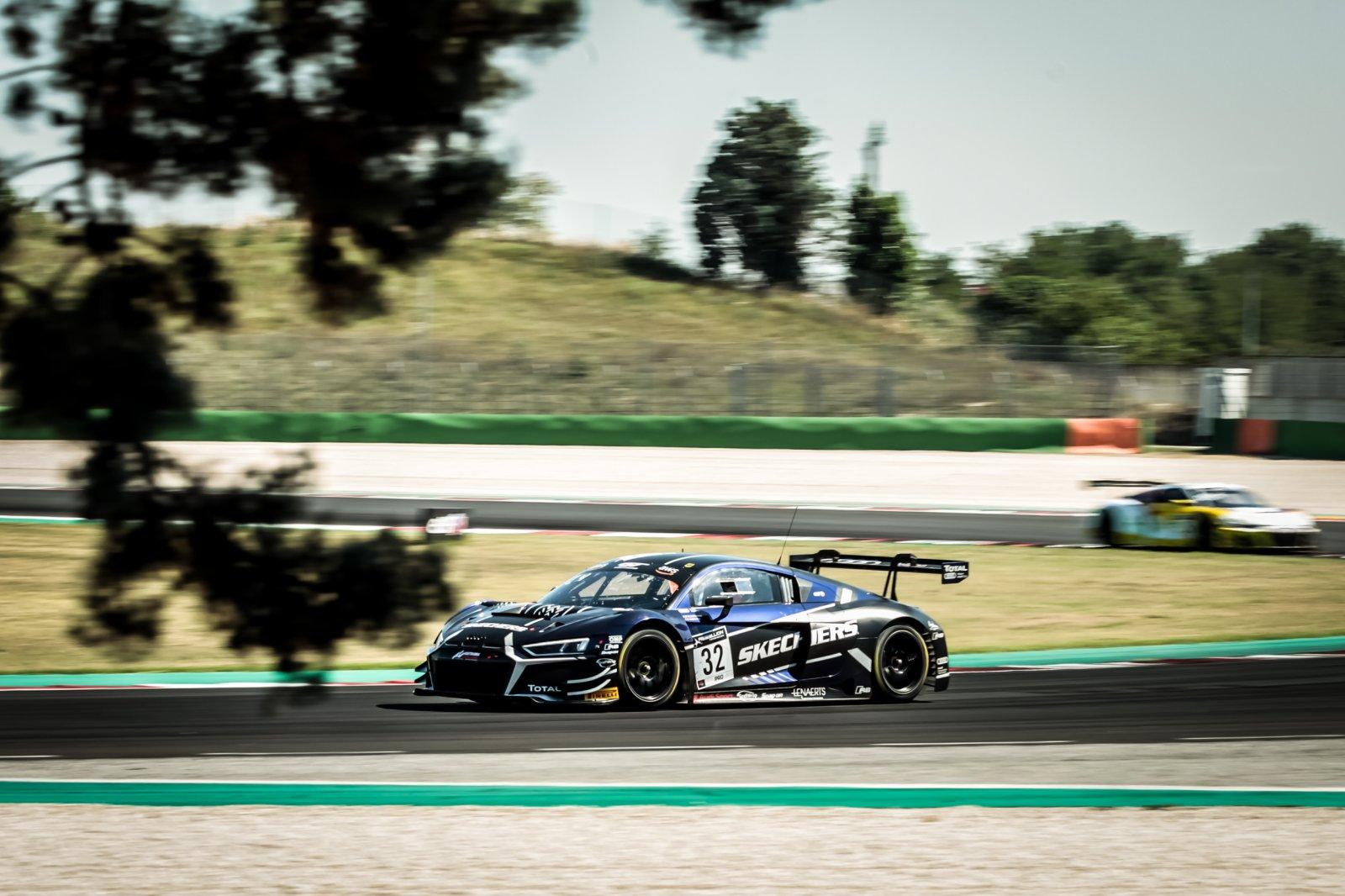 #32 Belgian Audi Club Team WRT BEL Audi R8 LMS GT3 - Charles Weerts BEL Dries Vanthoor BEL, Race 3