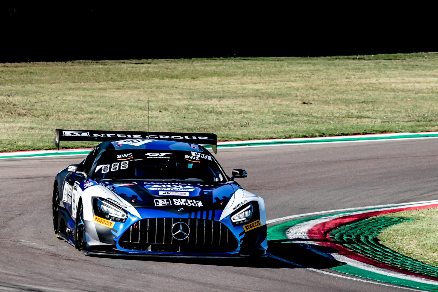 #89 AKKA ASP FRA Mercedes-AMG GT3 Silver Cup Benjamin Hites CHL Lucas Legeret CHE Alex Fontana CHE, Free Practice  | SRO / Patrick Hecq Photography